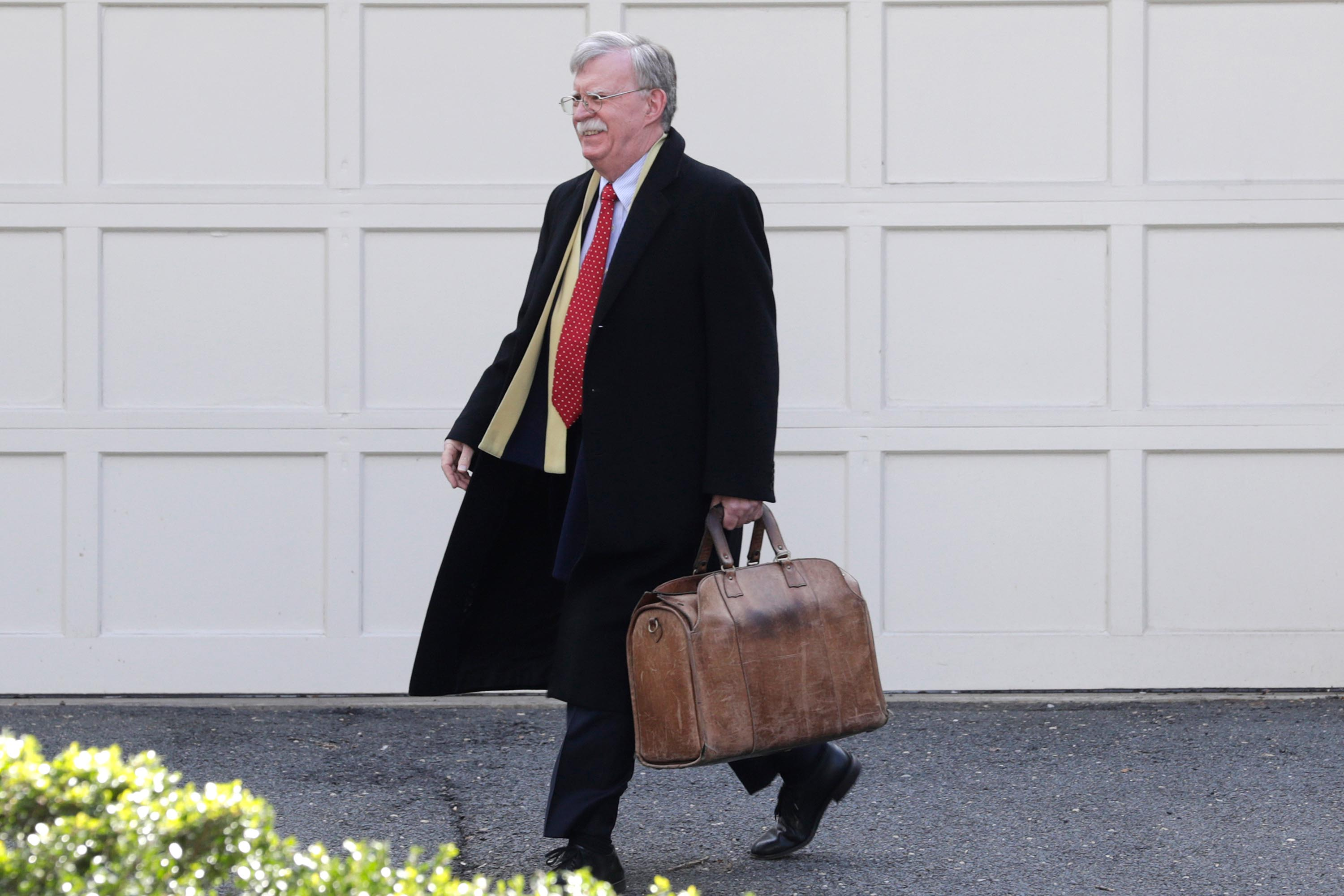 Some Republican senators want to review Bolton's manuscript in a classified setting. It's not clear if that would be legal.