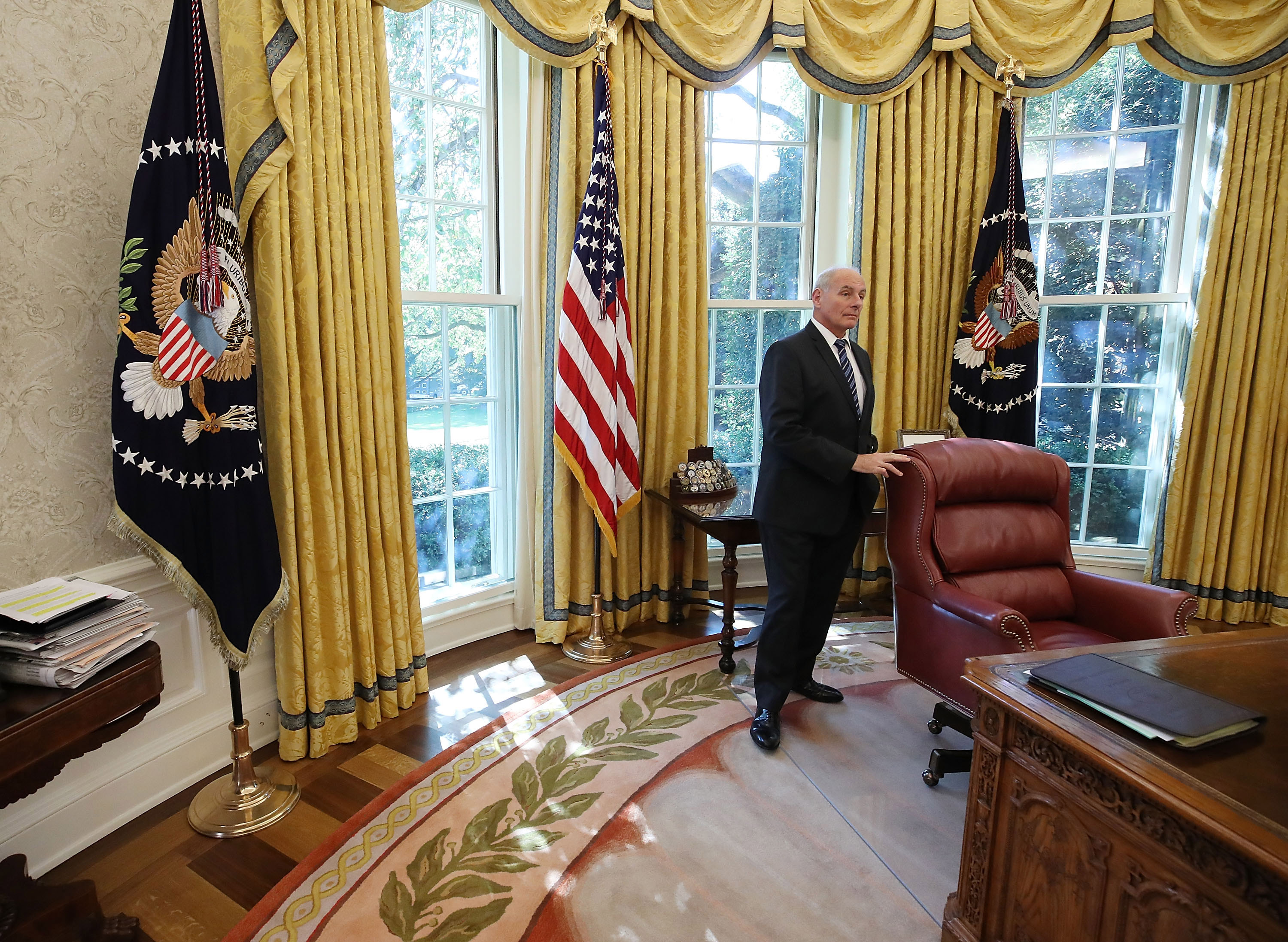 Former White House chief of Staff John Kelly: 'I agree' with Jim Mattis on Trump