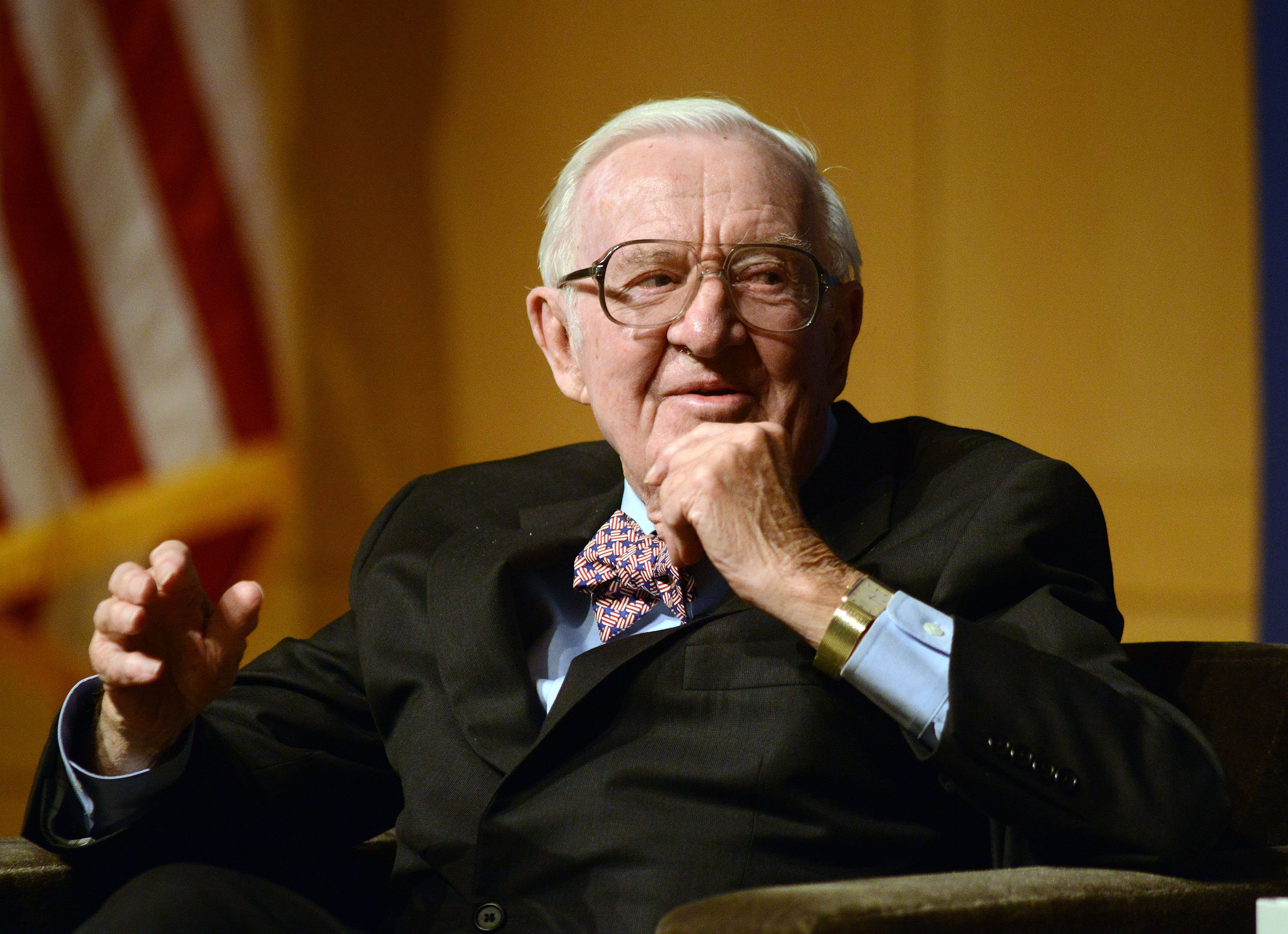 Former Justice John Paul Stevens traveled to Portugal at age 99, Ginsburg reveals at his funeral