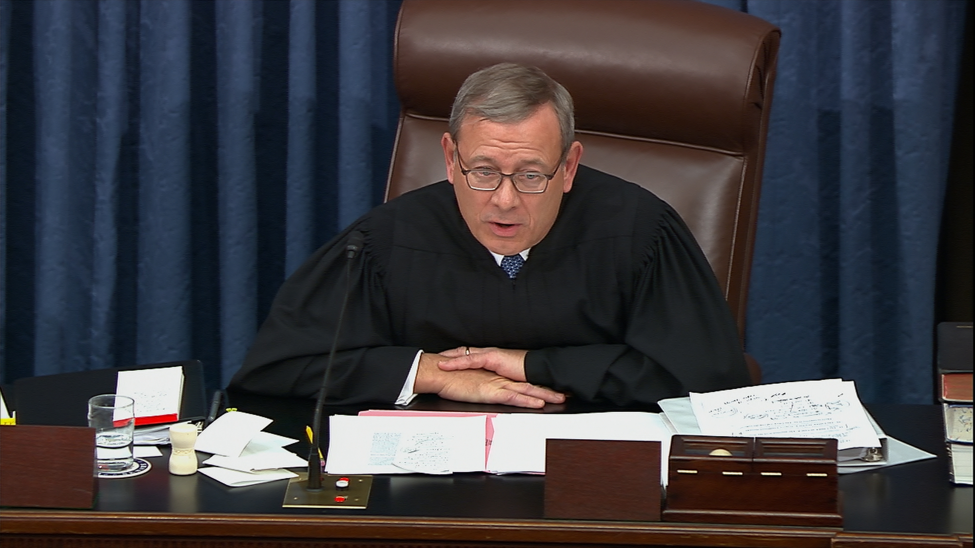 Why John Roberts admonished the impeachment legal teams at 1 a.m.