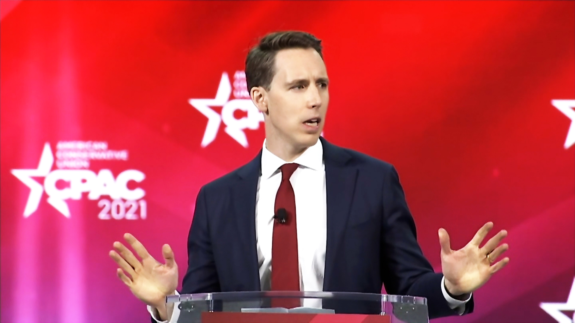 Hawley raised $3 million in 2021's first quarter after objecting to electoral votes Biden won