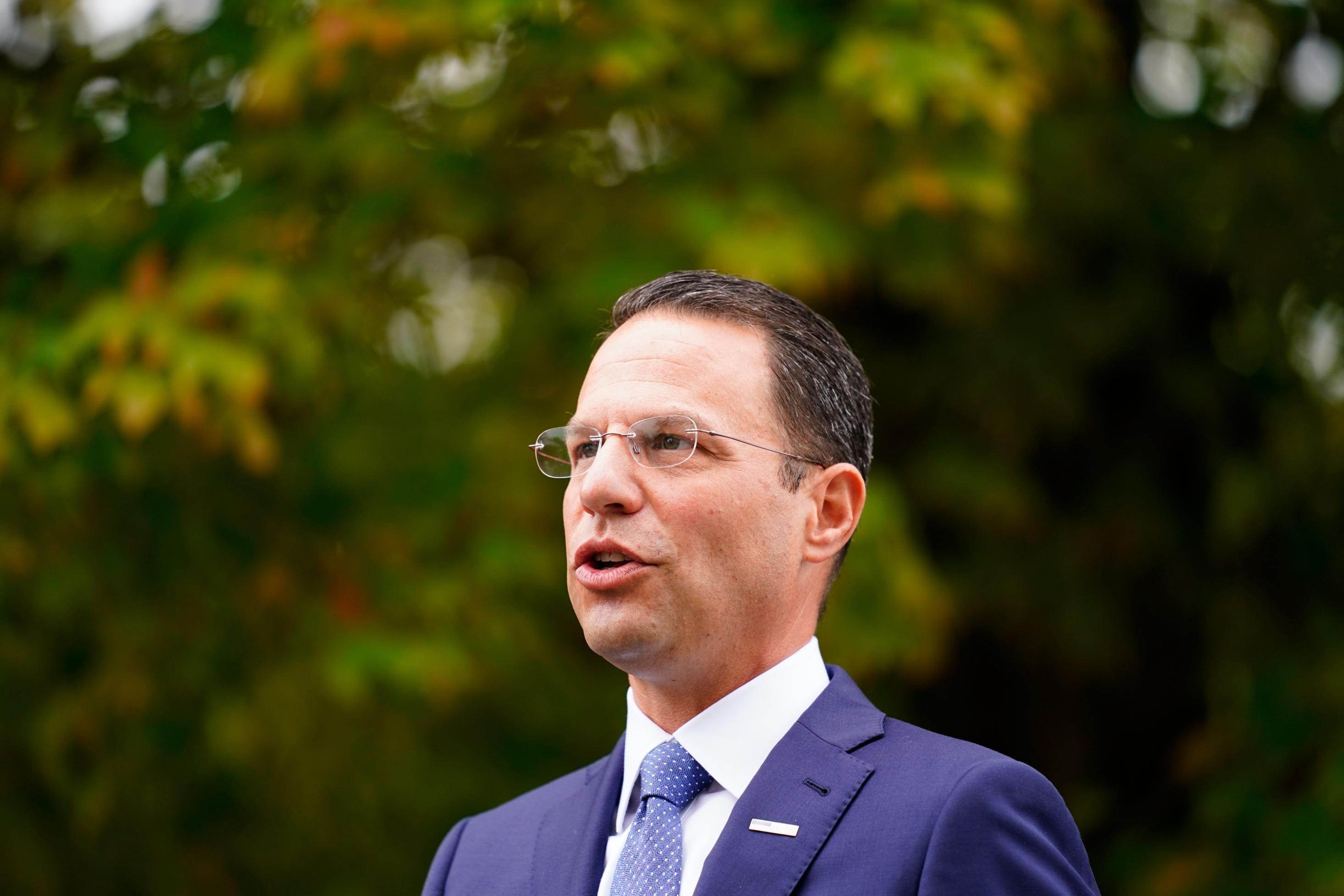 Pennsylvania attorney general Josh Shapiro announces his bid for governor