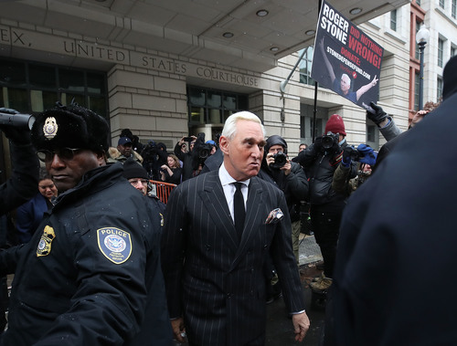 Image for Judge denies Roger Stone's request for a new trial