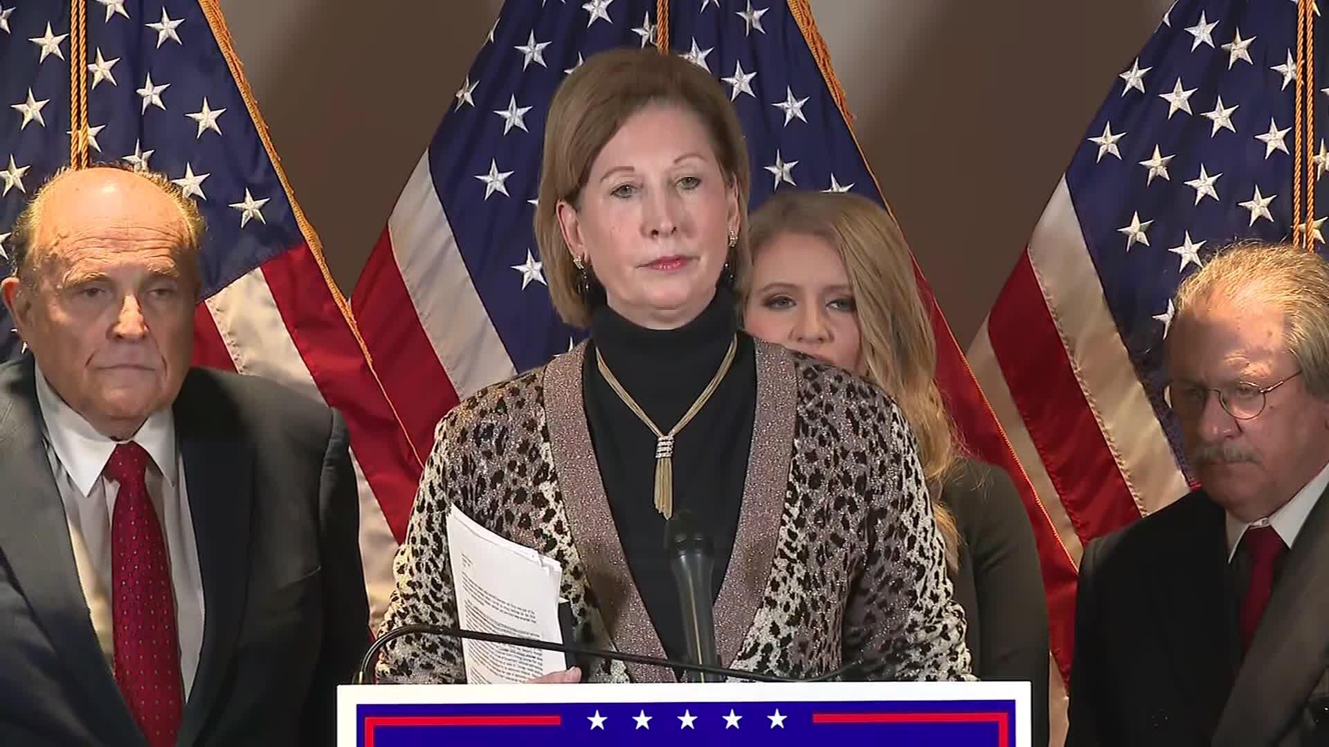 Judge sanctions pro-Trump lawyers who brought 'frivolous' election fraud lawsuits