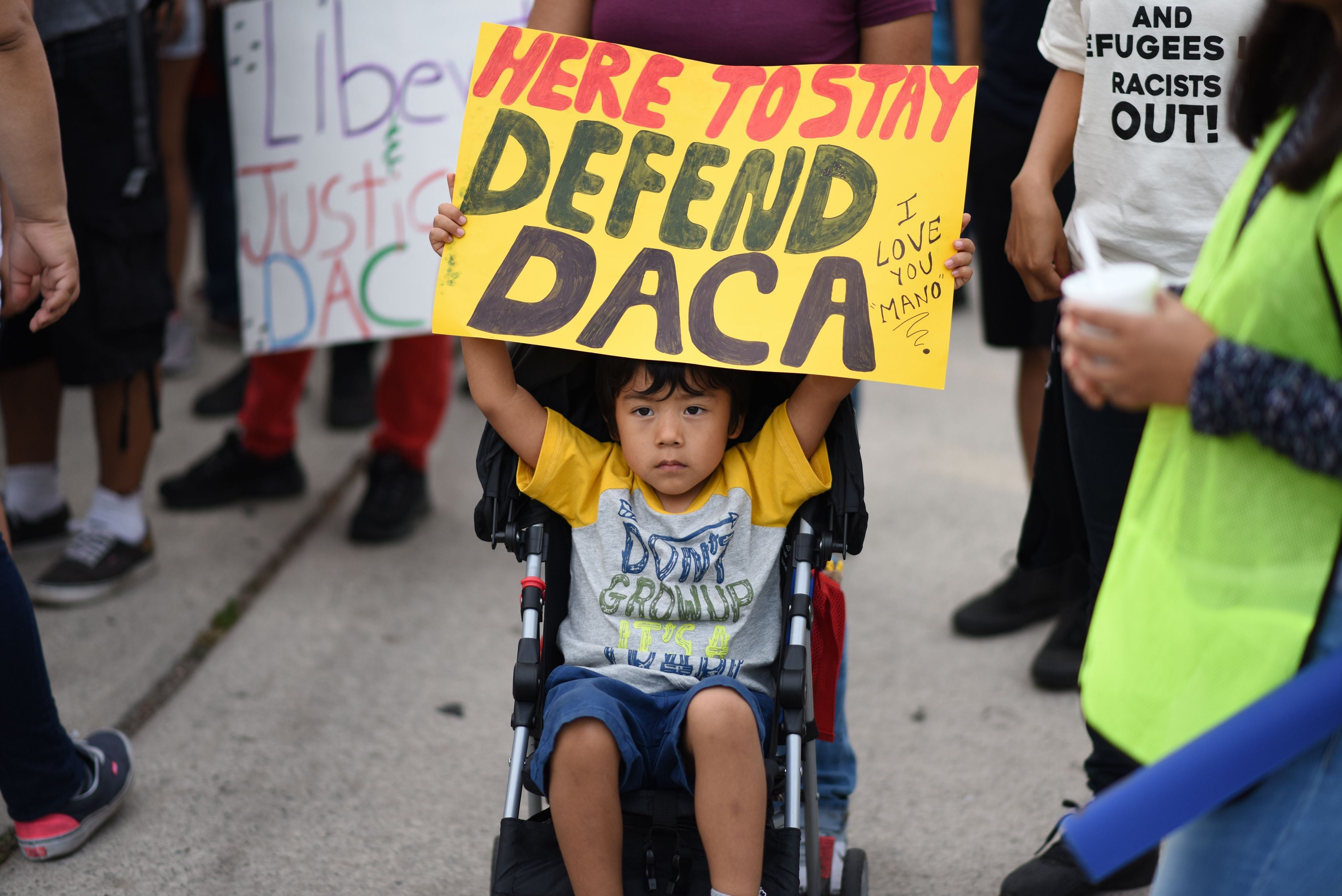Justice Dept. tells Supreme Court decision to end DACA was lawful