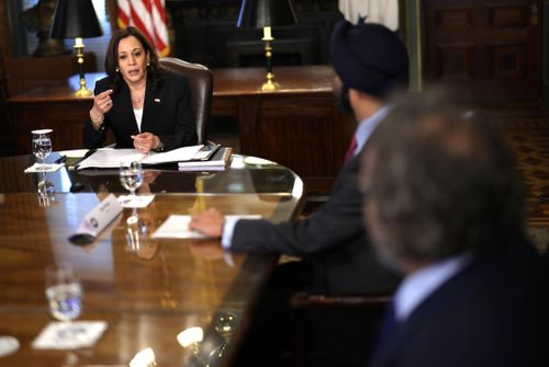 Image for Why Kamala Harris is heading to Guatemala and Mexico