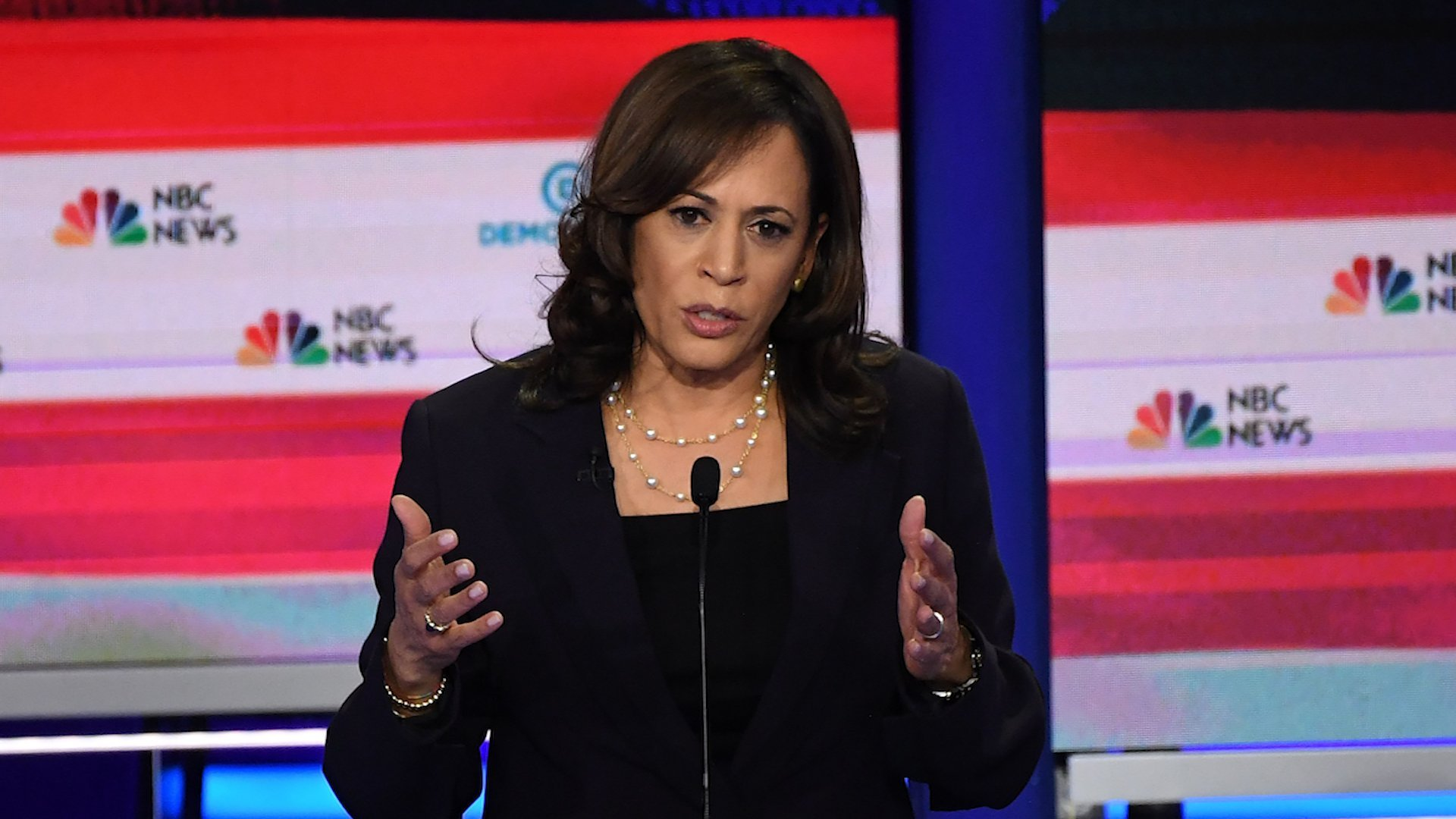 Kamala Harris on Trump's racist attack: He 'needs to go back where he came from and leave that office'