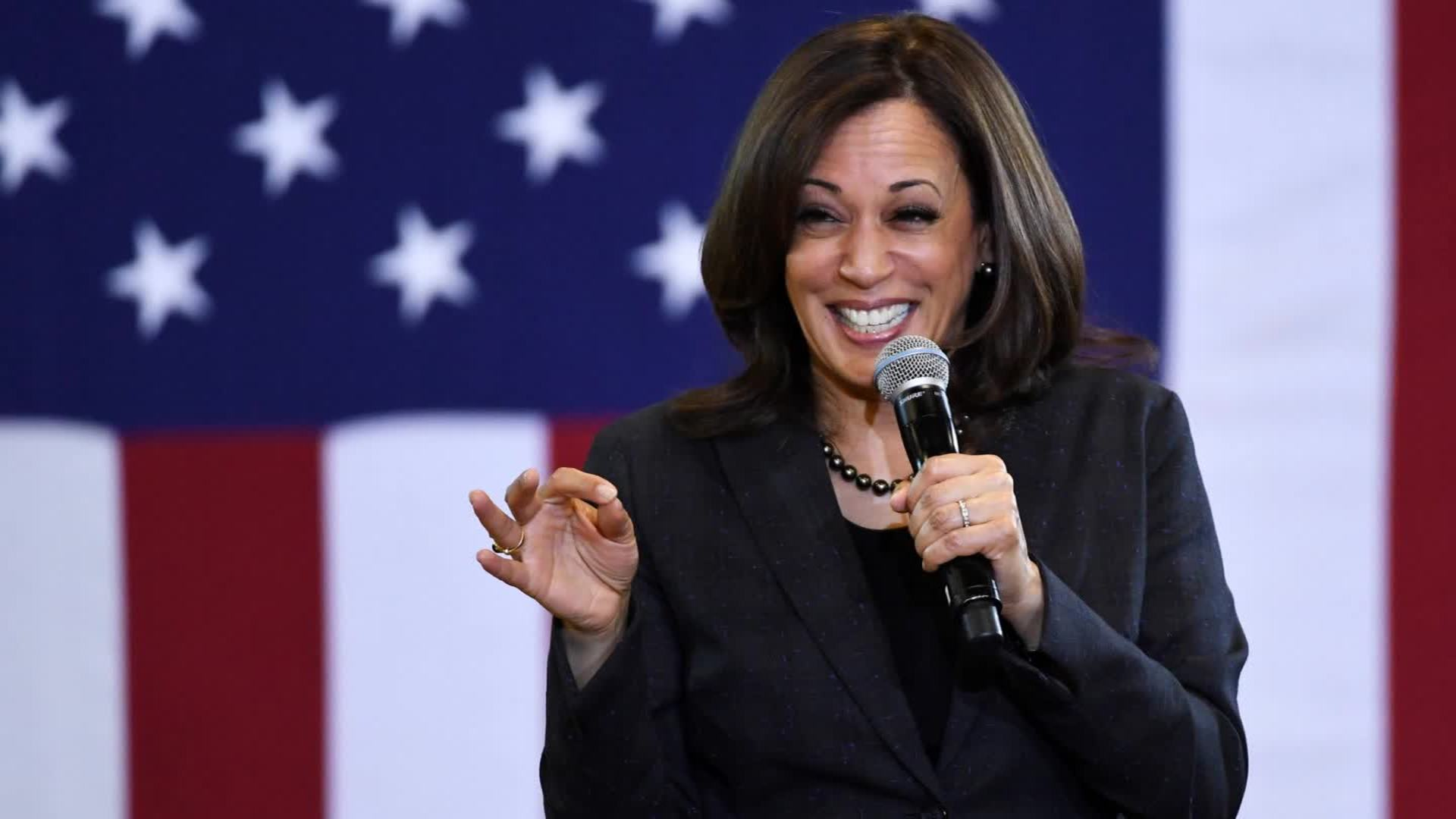 Kamala Harris considering endorsing Joe Biden for president, source says