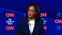 Kamala Harris defends her push to get Trump's Twitter account suspended
