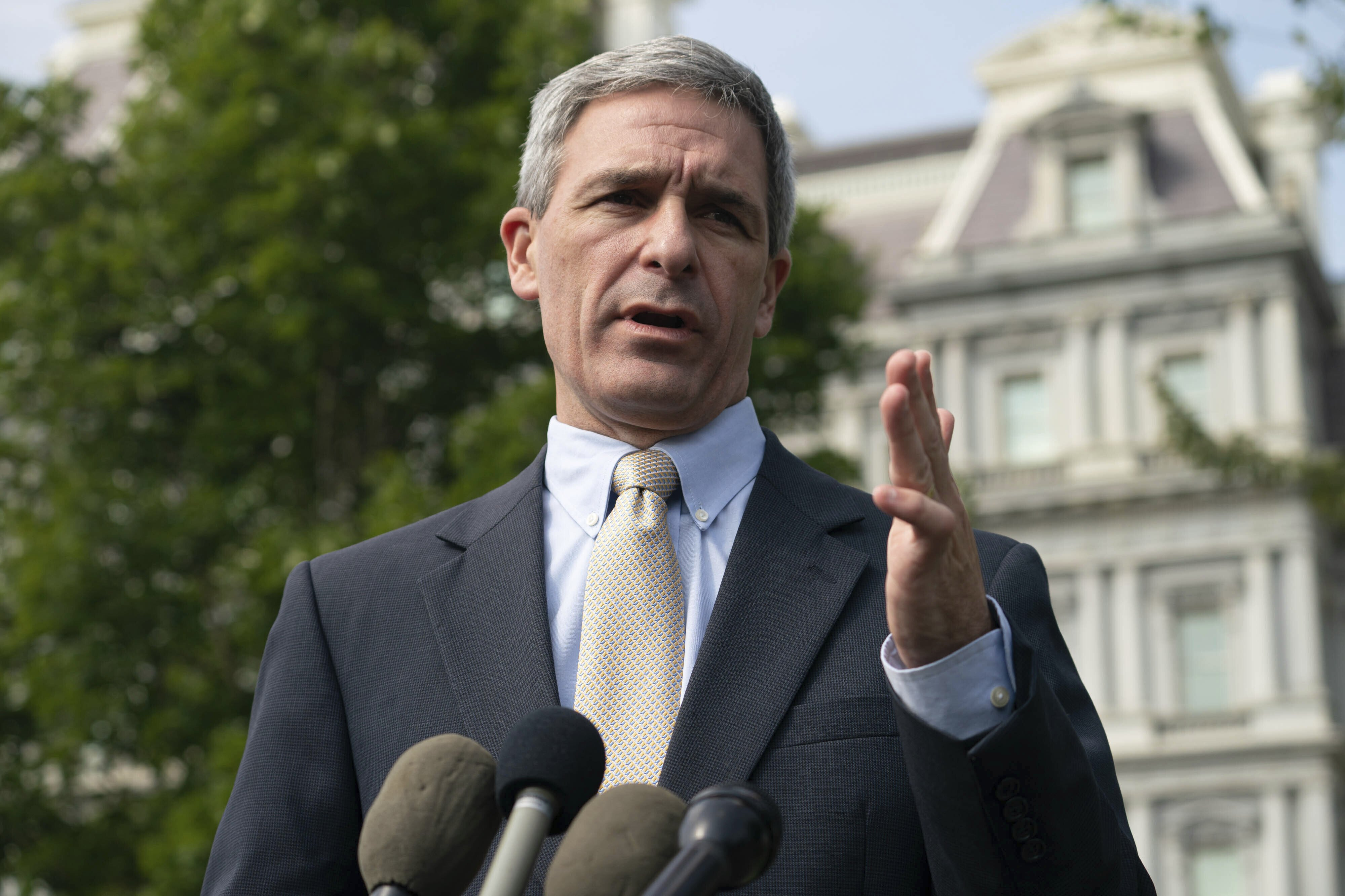 Ken Cuccinelli's rise at the Department of Homeland Security