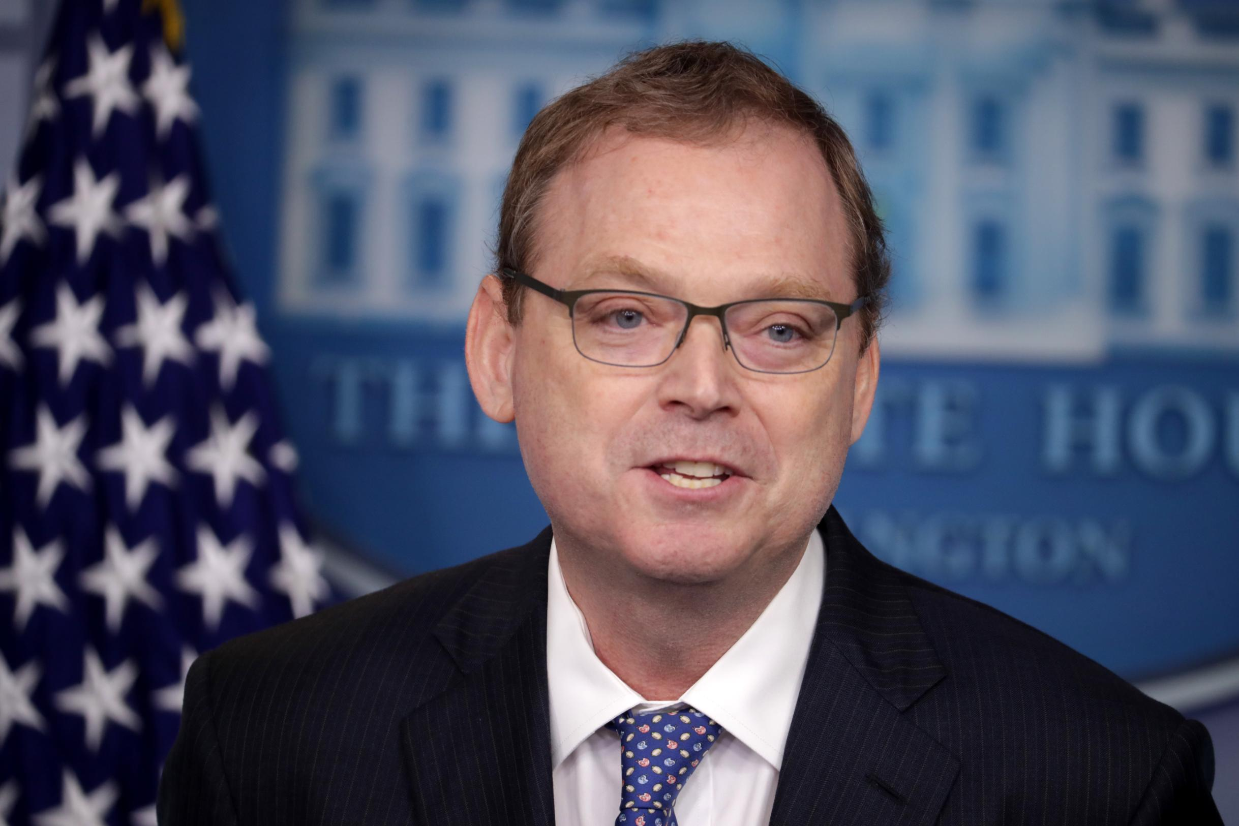 Hassett says unemployment rate could be 'north of 20%' in May with possible double-digits in November