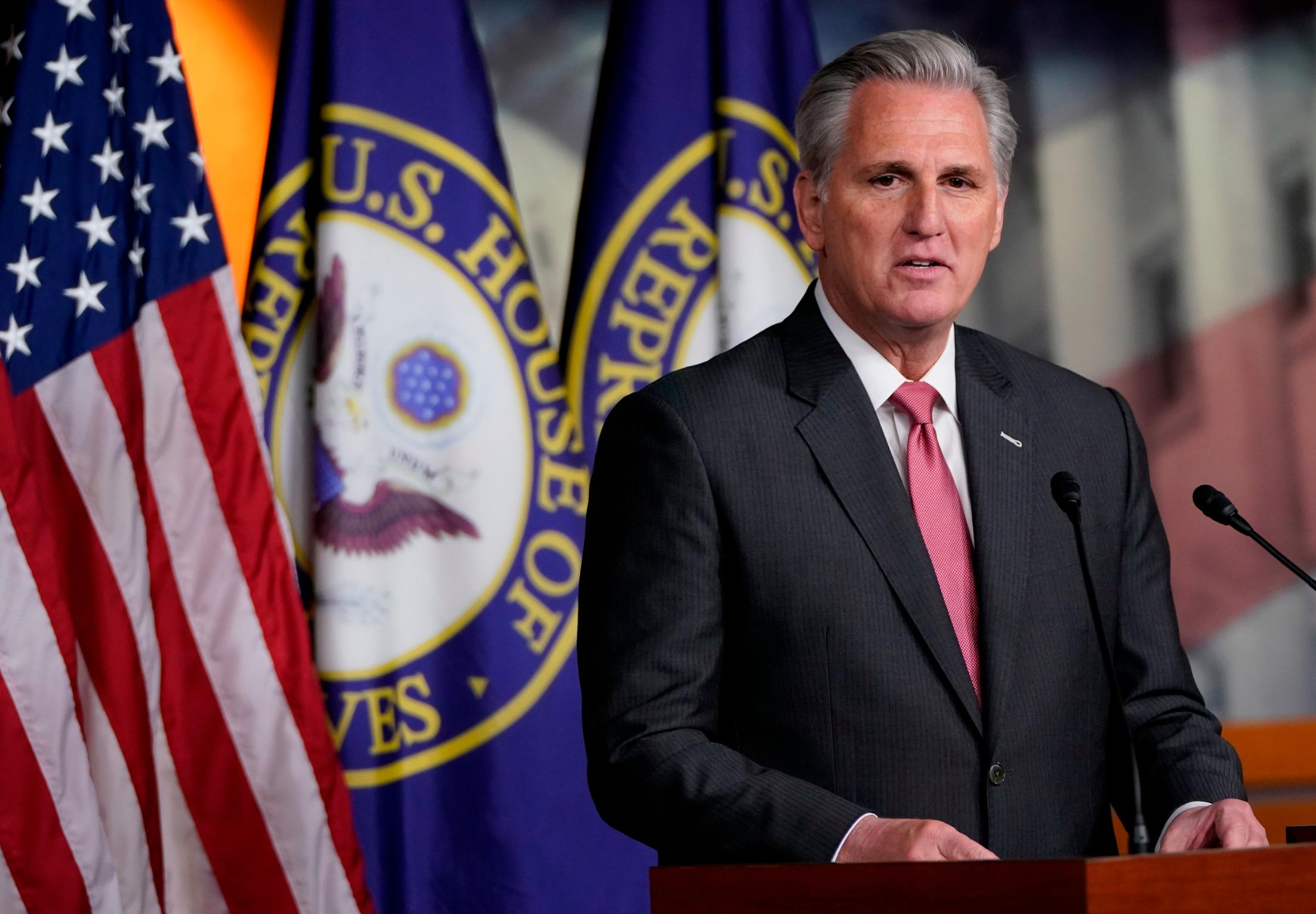 McCarthy won't support January 6 commission and sides with Republicans downplaying the insurrection