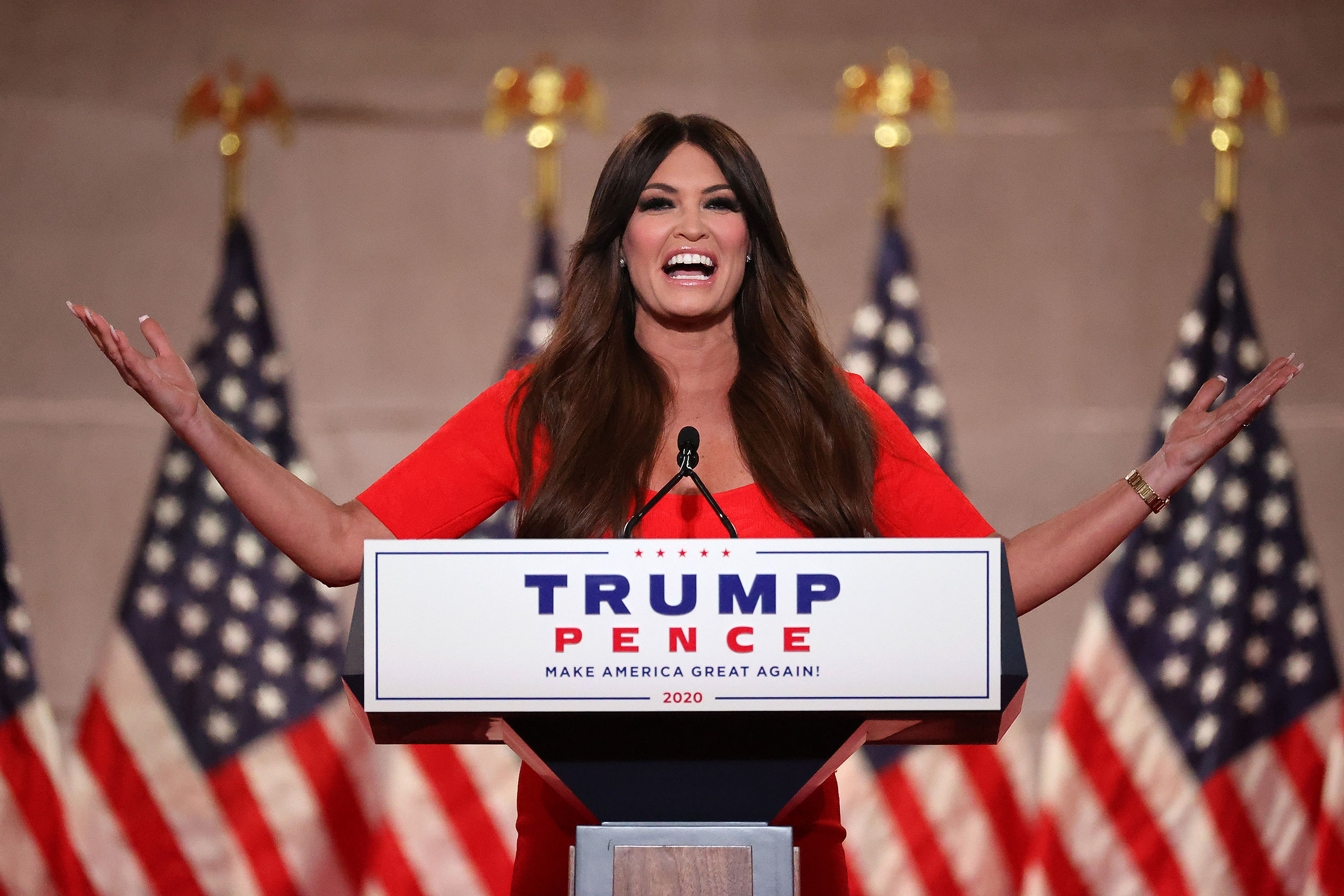 Kimberly Guilfoyle joins Eric Greitens' US Senate campaign in Missouri