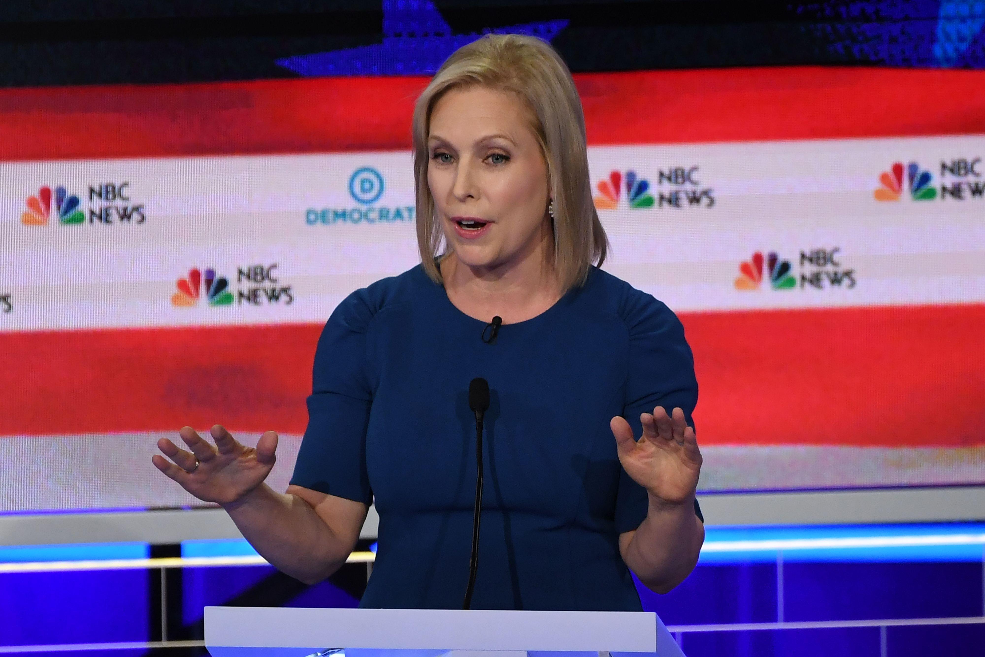Kirsten Gillibrand says she does not regret calling for Al Franken's resignation