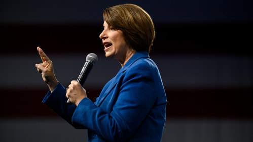 Image for Amy Klobuchar ends 2020 presidential campaign and endorses Joe Biden