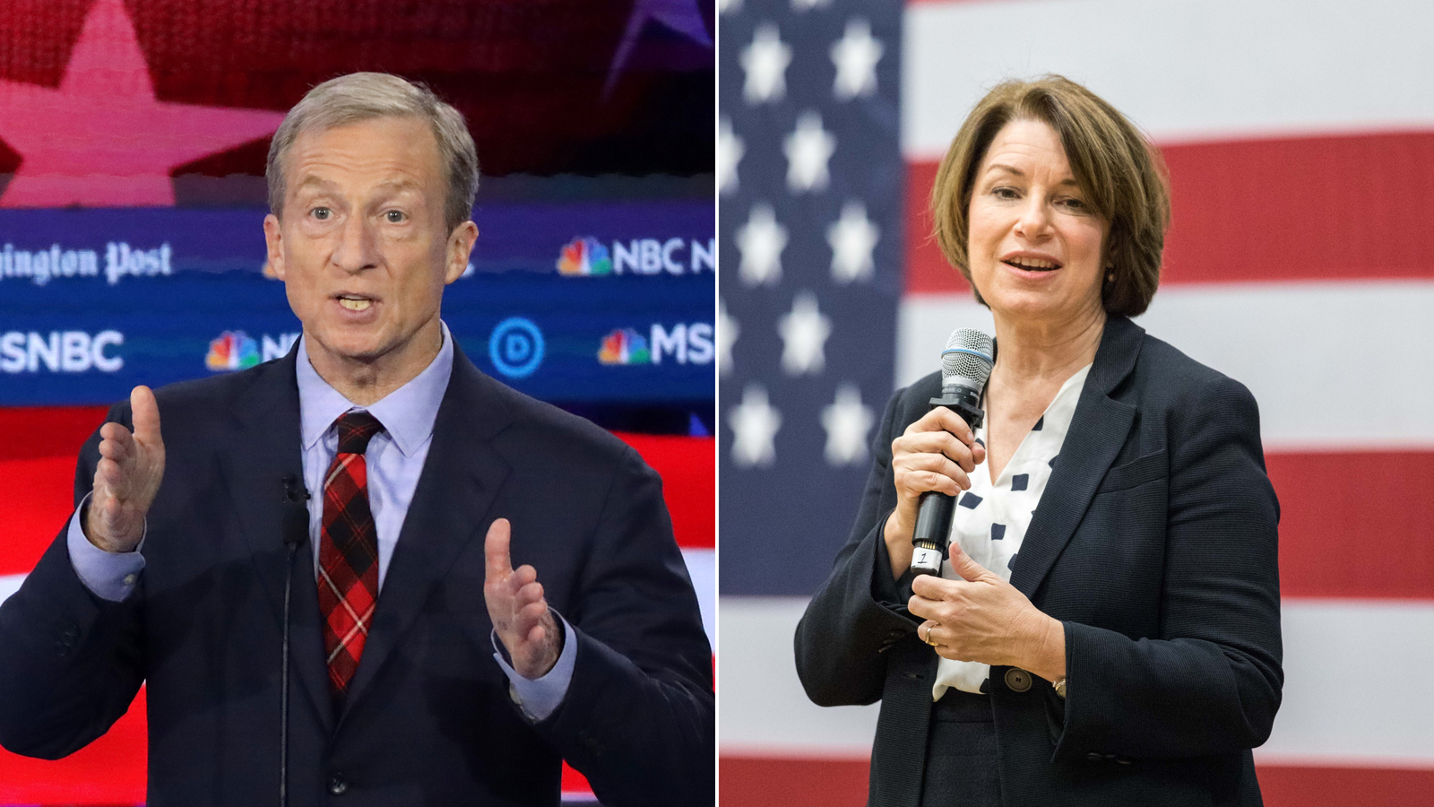 Klobuchar and Steyer couldn't name Mexico's president while campaigning in Nevada