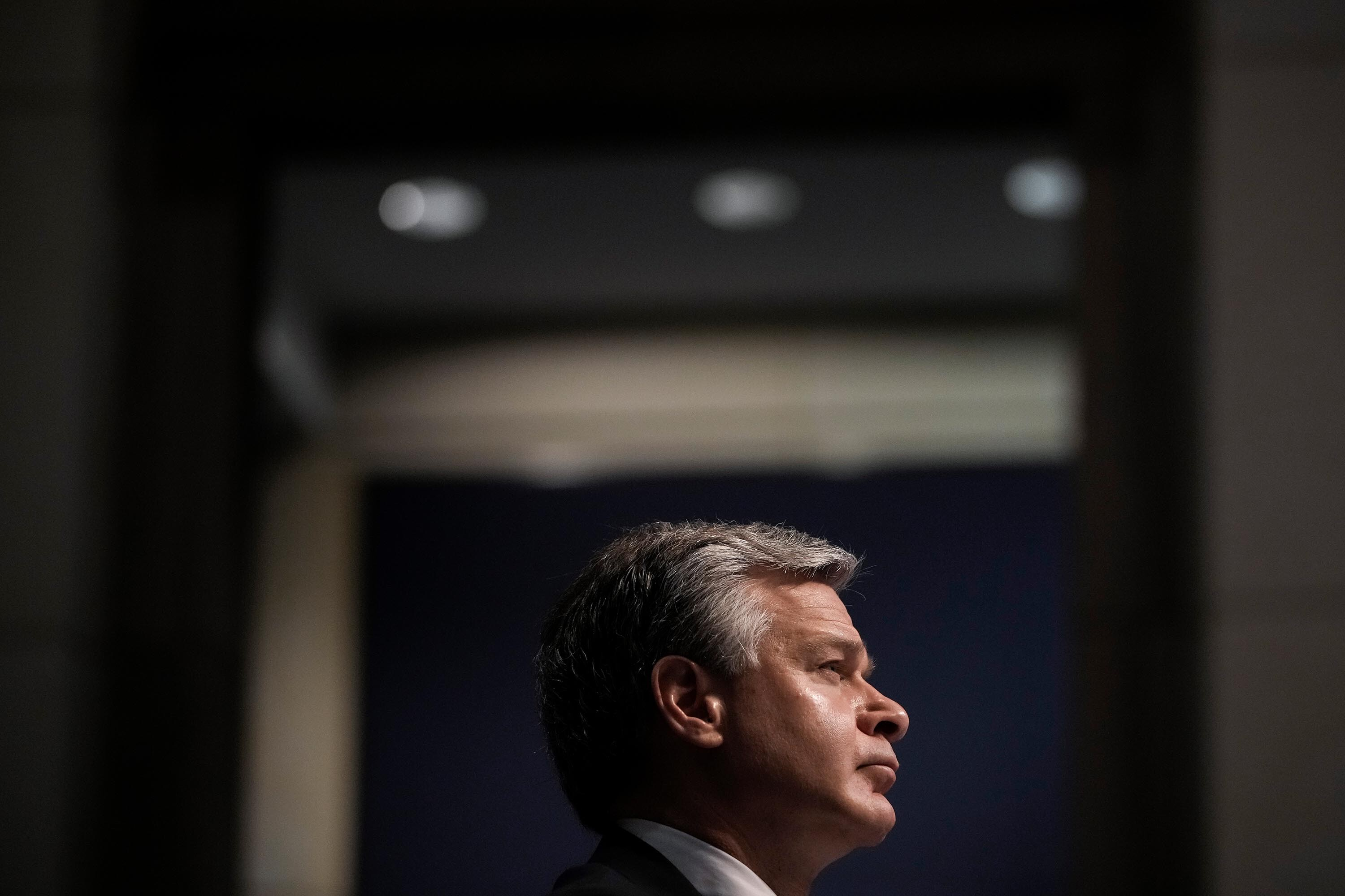 House lawmakers seek explanation from FBI's Wray over ransomware response