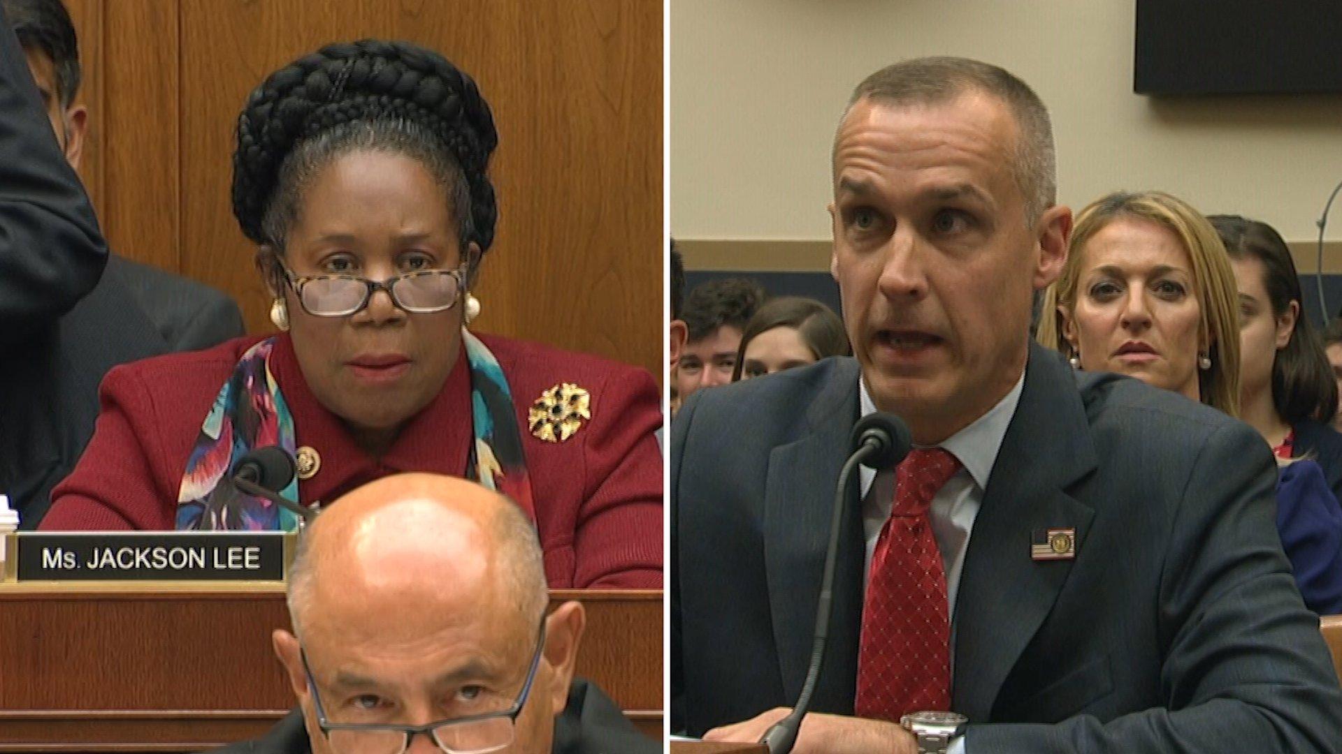 Lewandowski calls Democratic Rep. Sheila Jackson Lee's questioning 'just a rant'
