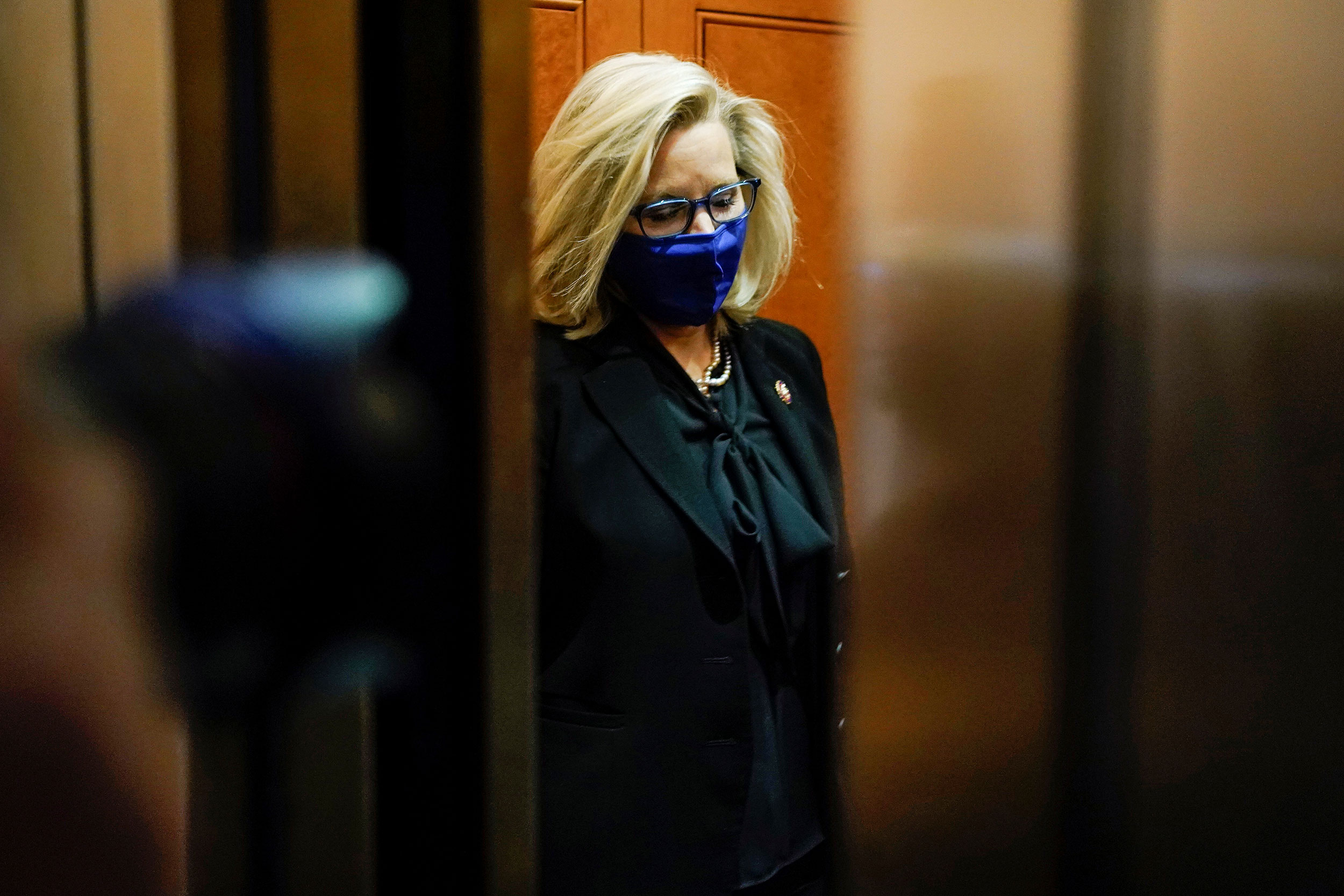 Liz Cheney loses House Republican leadership post over feud with Trump