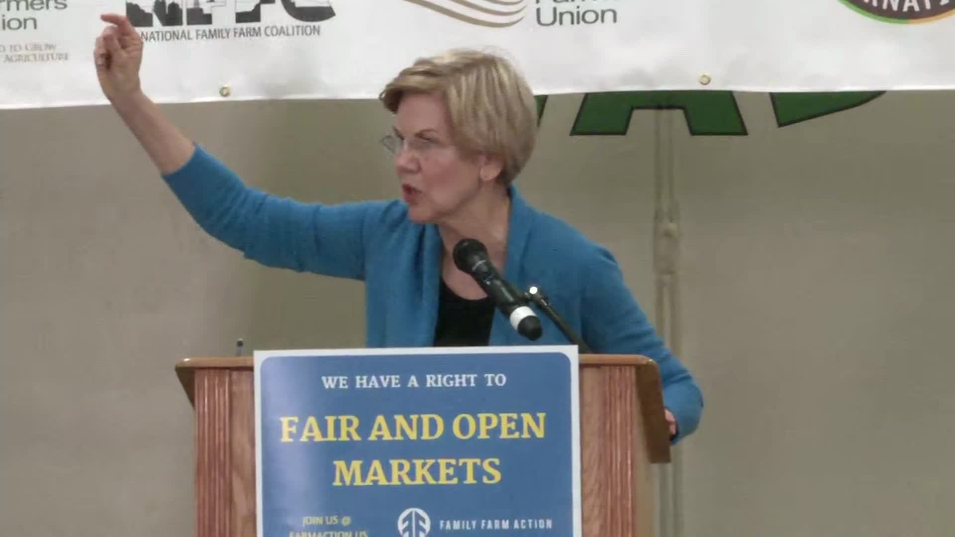 Elizabeth Warren's new plan targets Wall Street and private equity 'vampires'