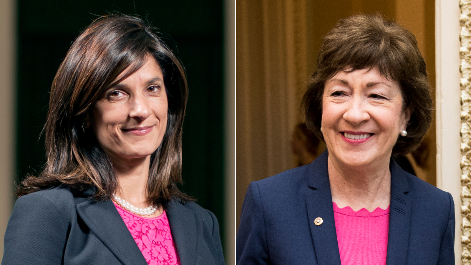 Collins and Gideon spar over Supreme Court and coronavirus in Maine Senate debate