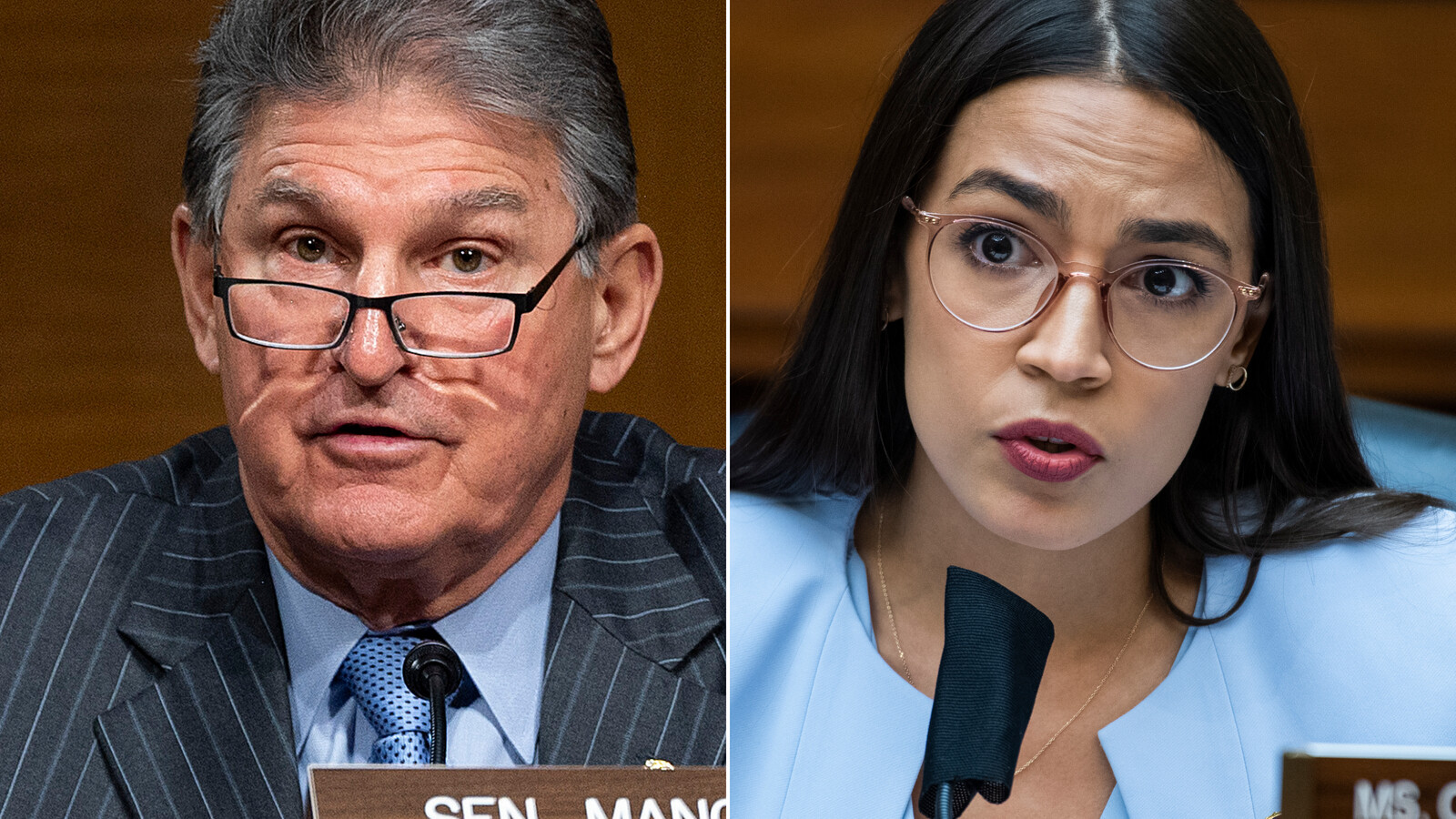 Ocasio-Cortez calls out Manchin for referring to her as 'young lady'