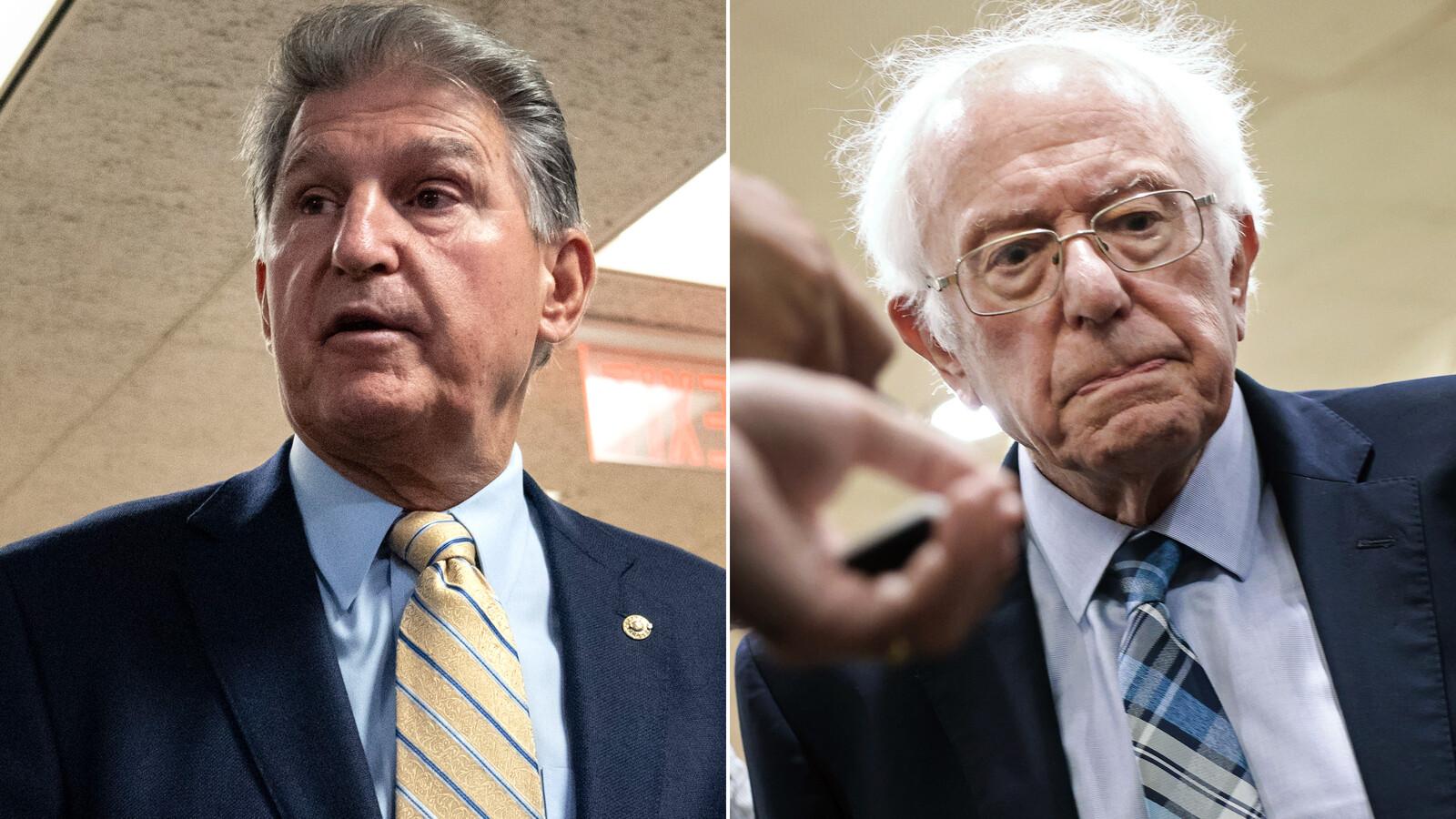 Inside the Manchin-Sanders feud that has Democrats nervous about Biden's agenda