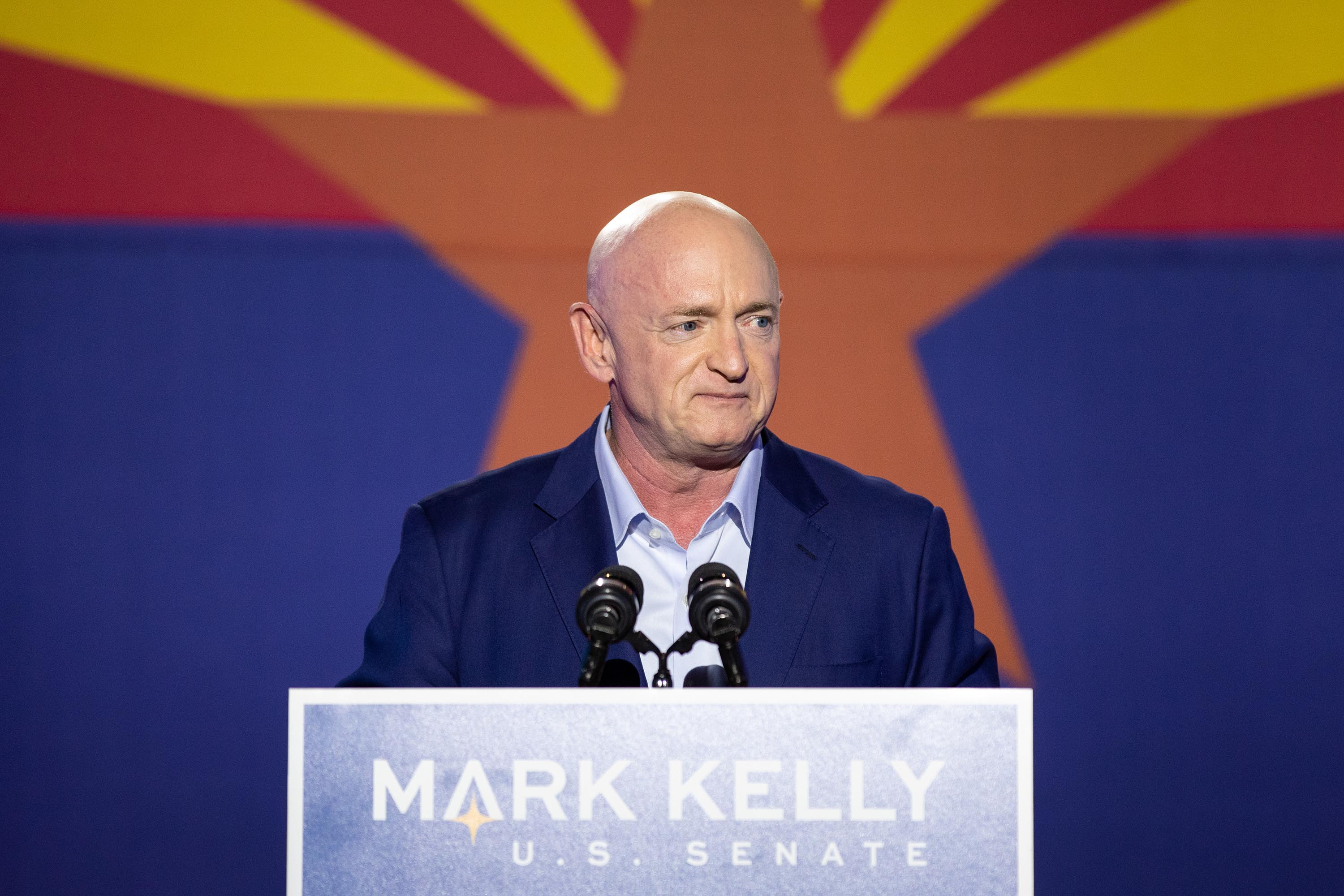 Former astronaut Mark Kelly to be sworn in as a US senator Wednesday