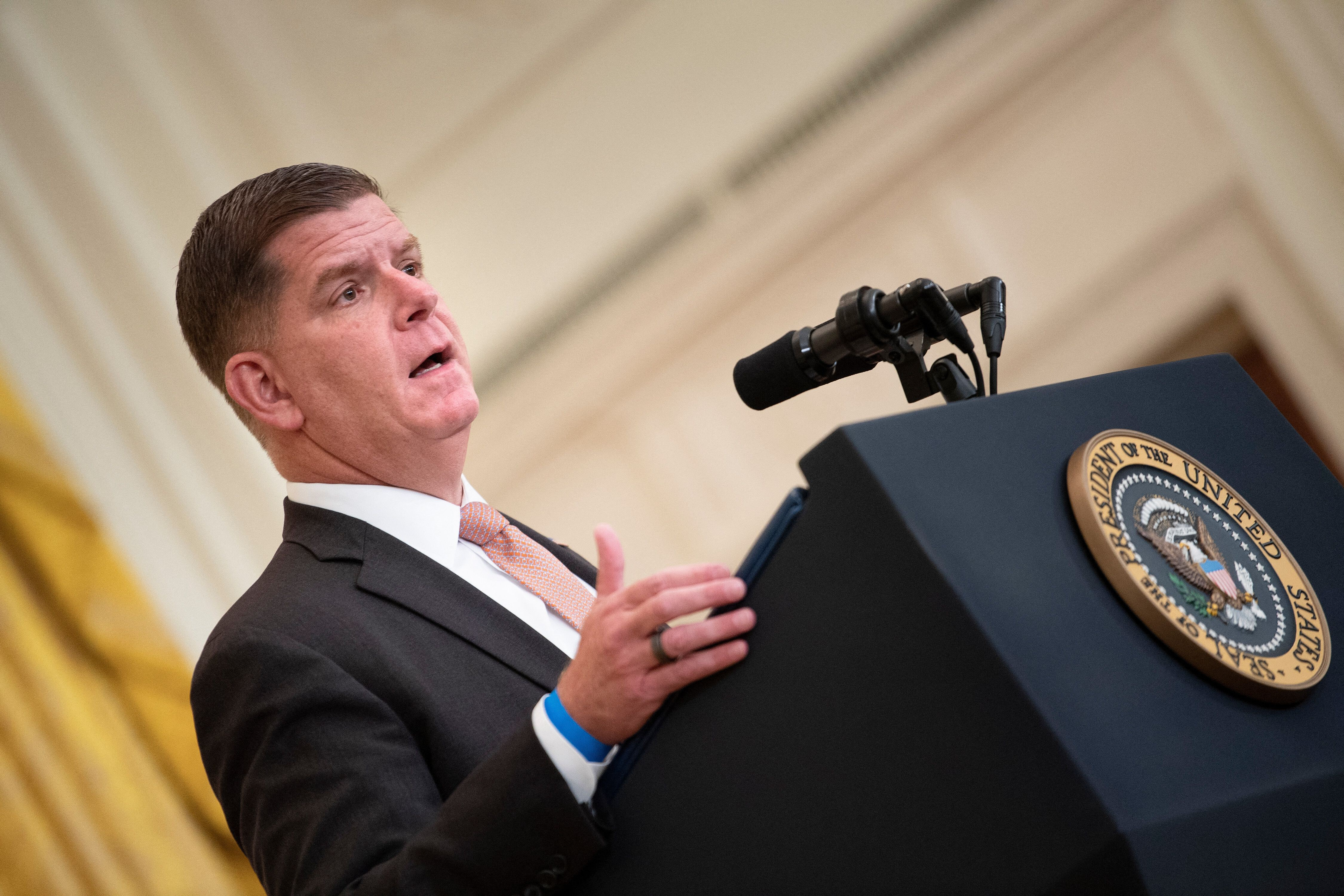Labor Secretary Marty Walsh opens up about his sobriety as the nation faces addiction crisis during Covid-19 pandemic