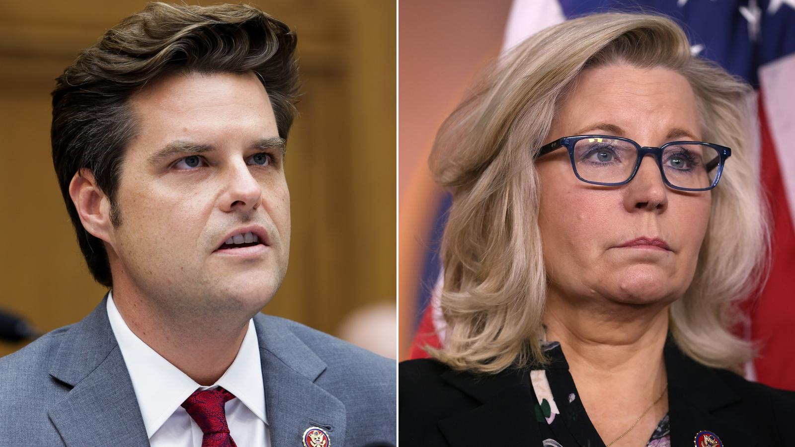 Matt Gaetz to rally Trump faithful to boost MAGA backlash in Liz Cheney's backyard