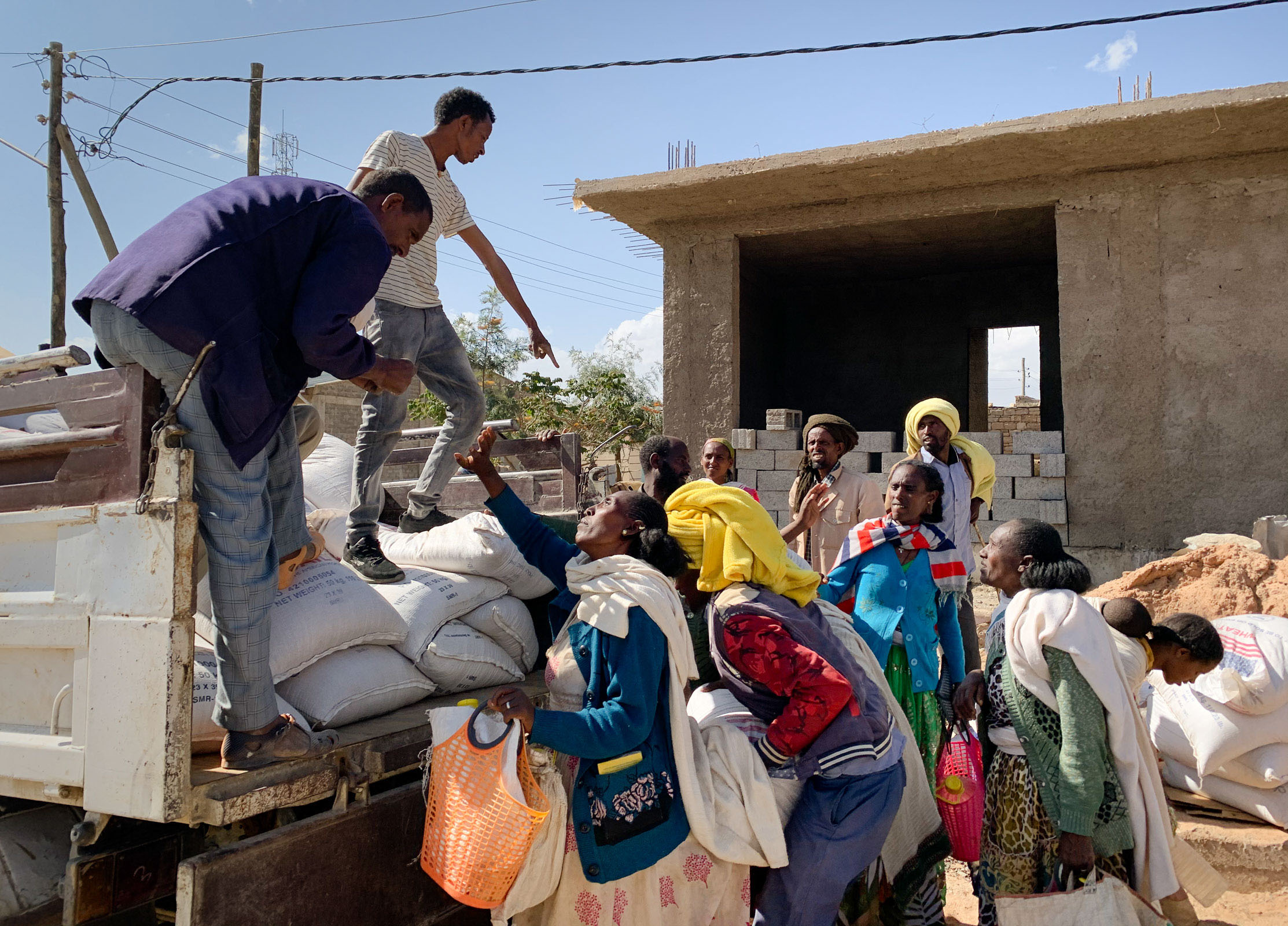 Top House Foreign Affairs member calls for sanctions in Tigray after CNN report shows military forces blocking aid