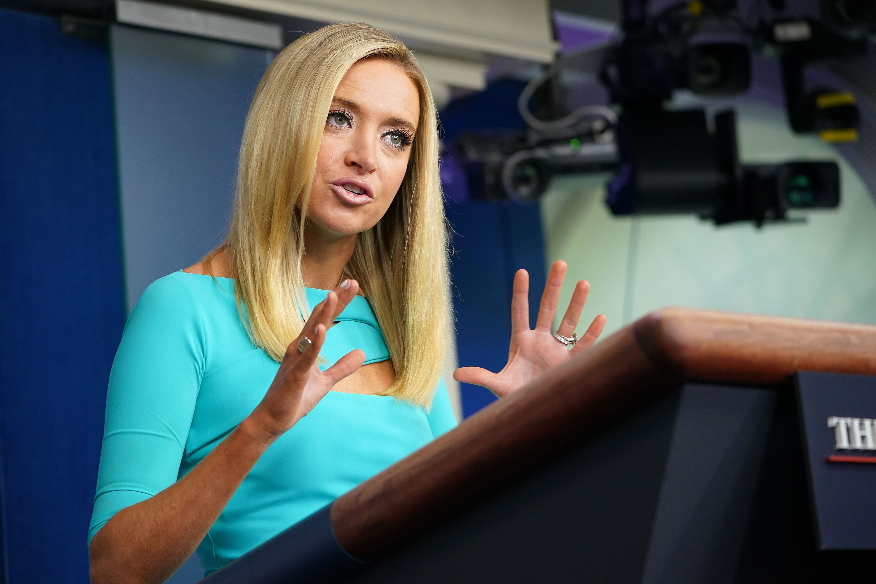 "Kayleigh McEnany once praised Biden as a 'man of the people' who resonates with ""middle class"" over 'tycoon' Trump"