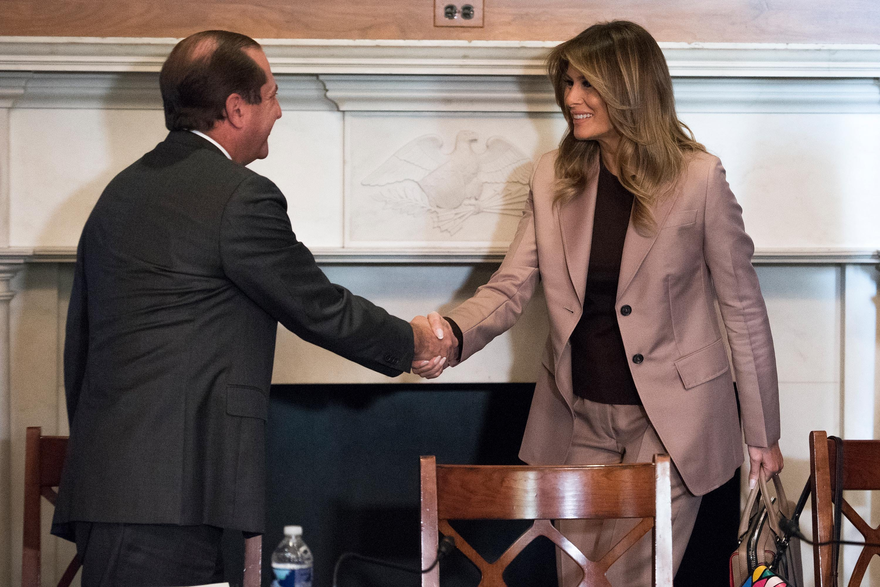 Melania Trump receives warm welcome on first solo Capitol Hill visit amid Syria, impeachment drama