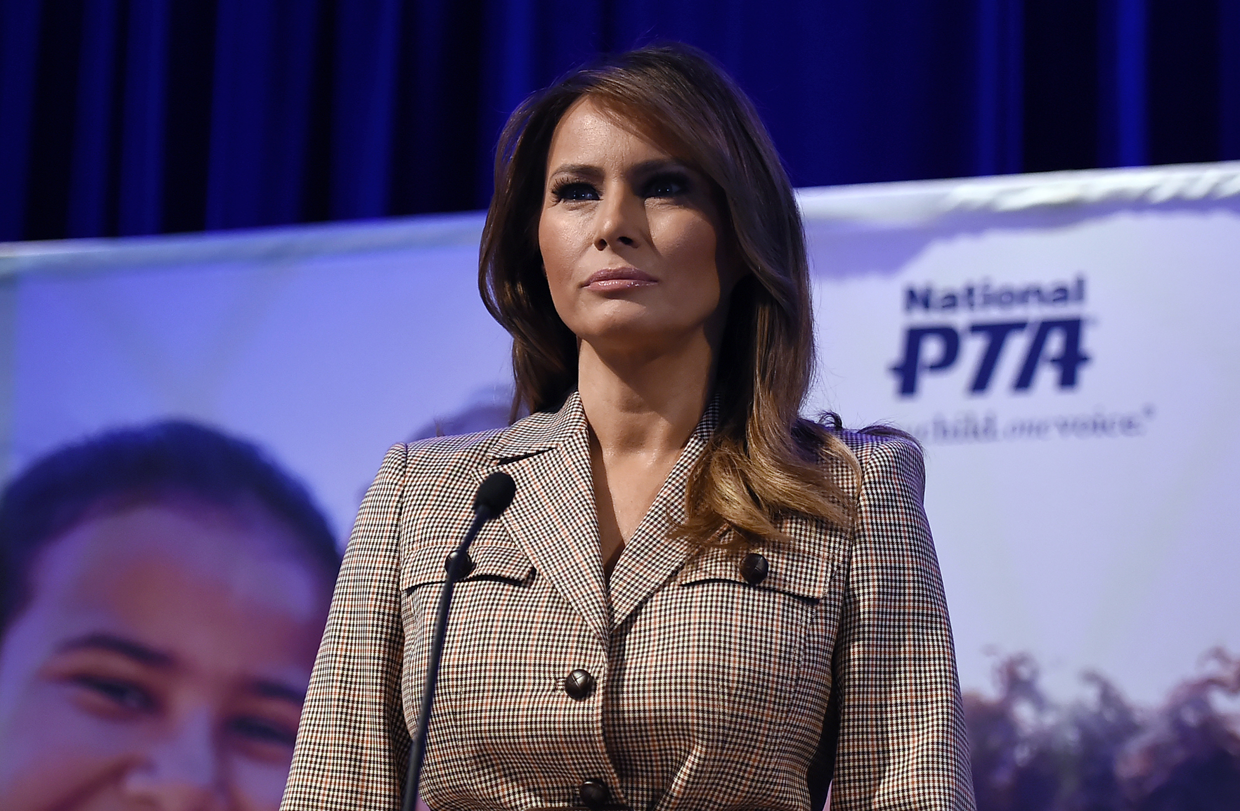 Melania Trump's messaging frustrating the West Wing, source says