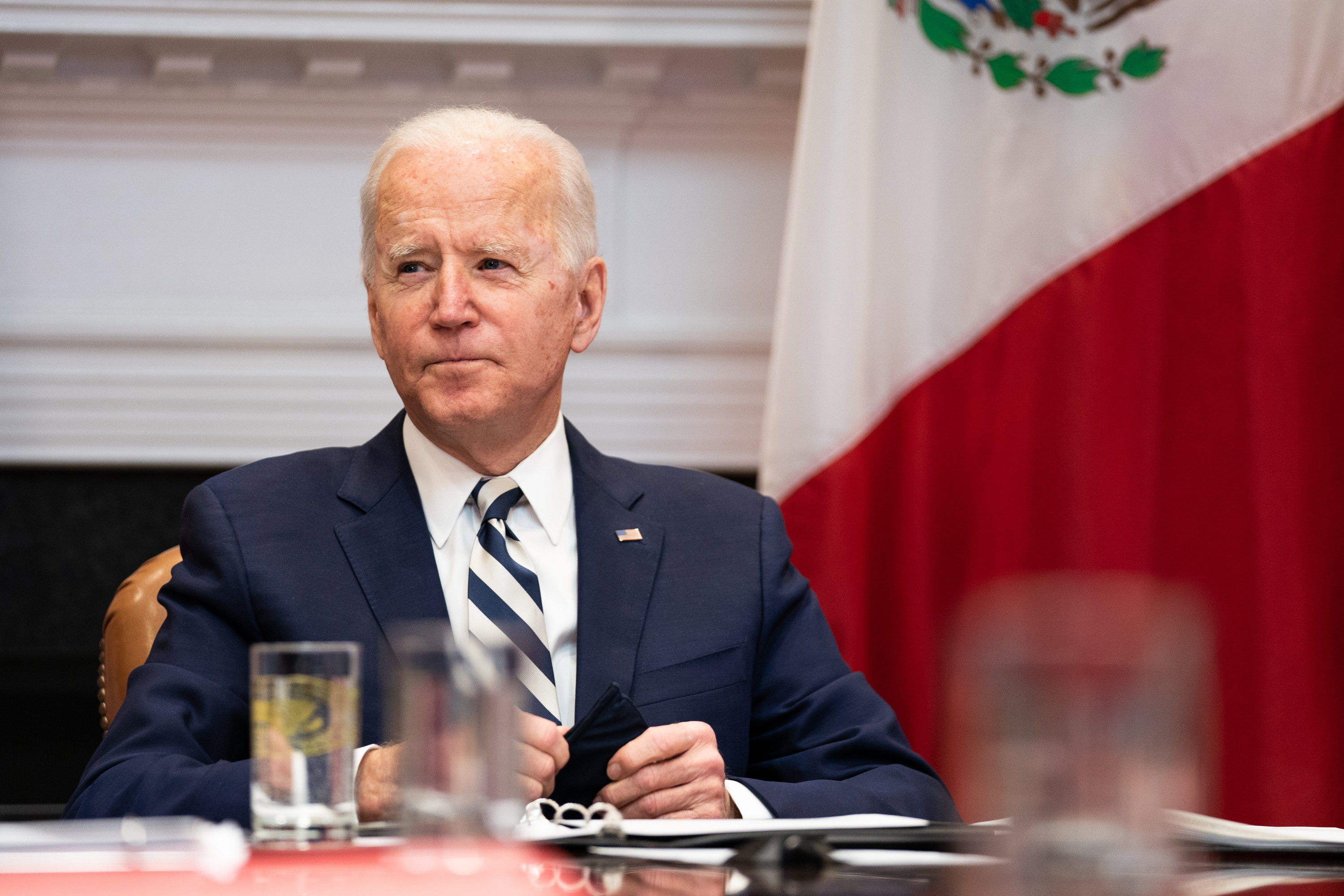 Biden now says US will have enough vaccine for every adult by the end of May