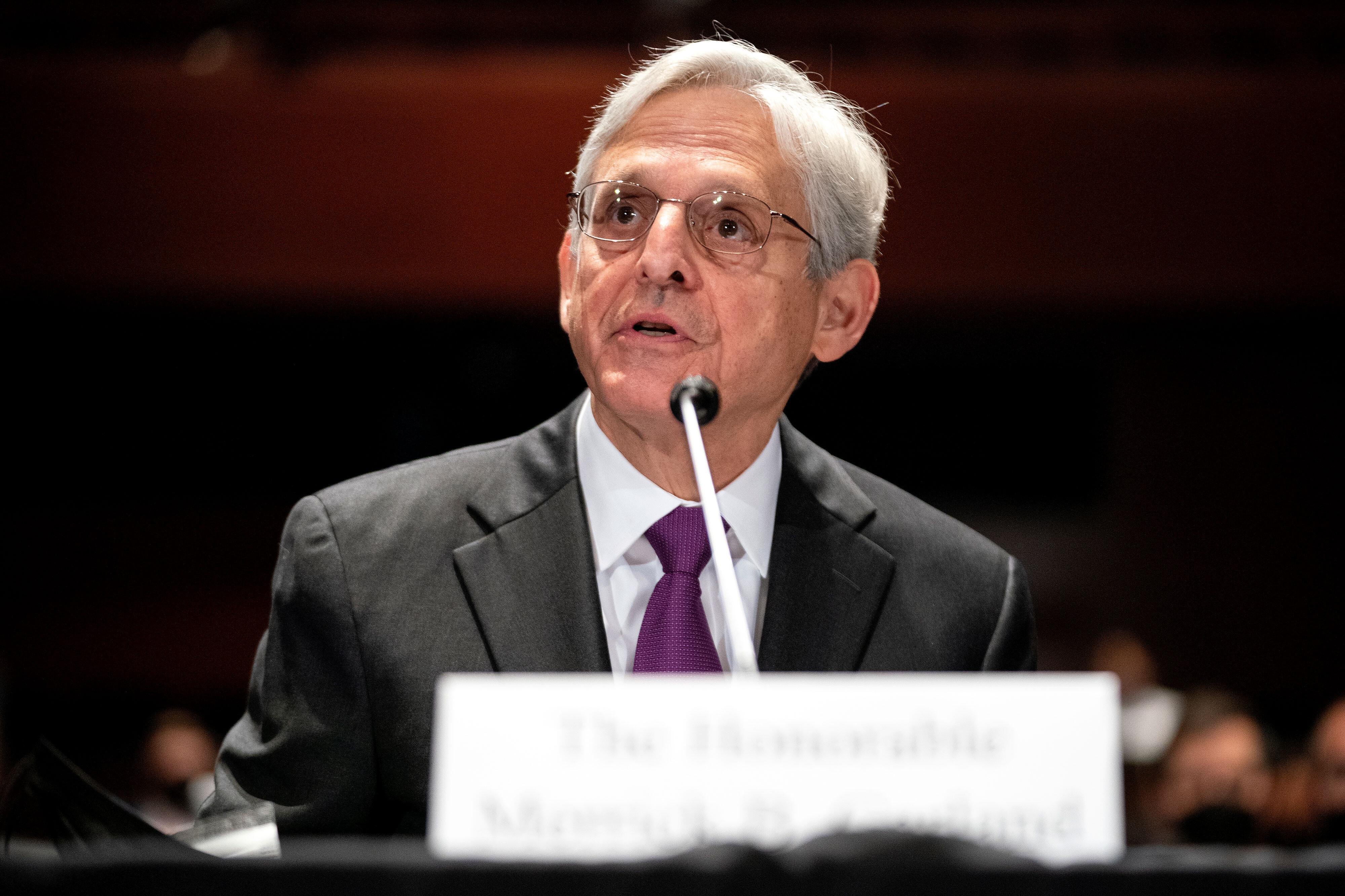 Merrick Garland will appear before Senate panel amid pressure on Nassar probe, Bannon and school boards memo