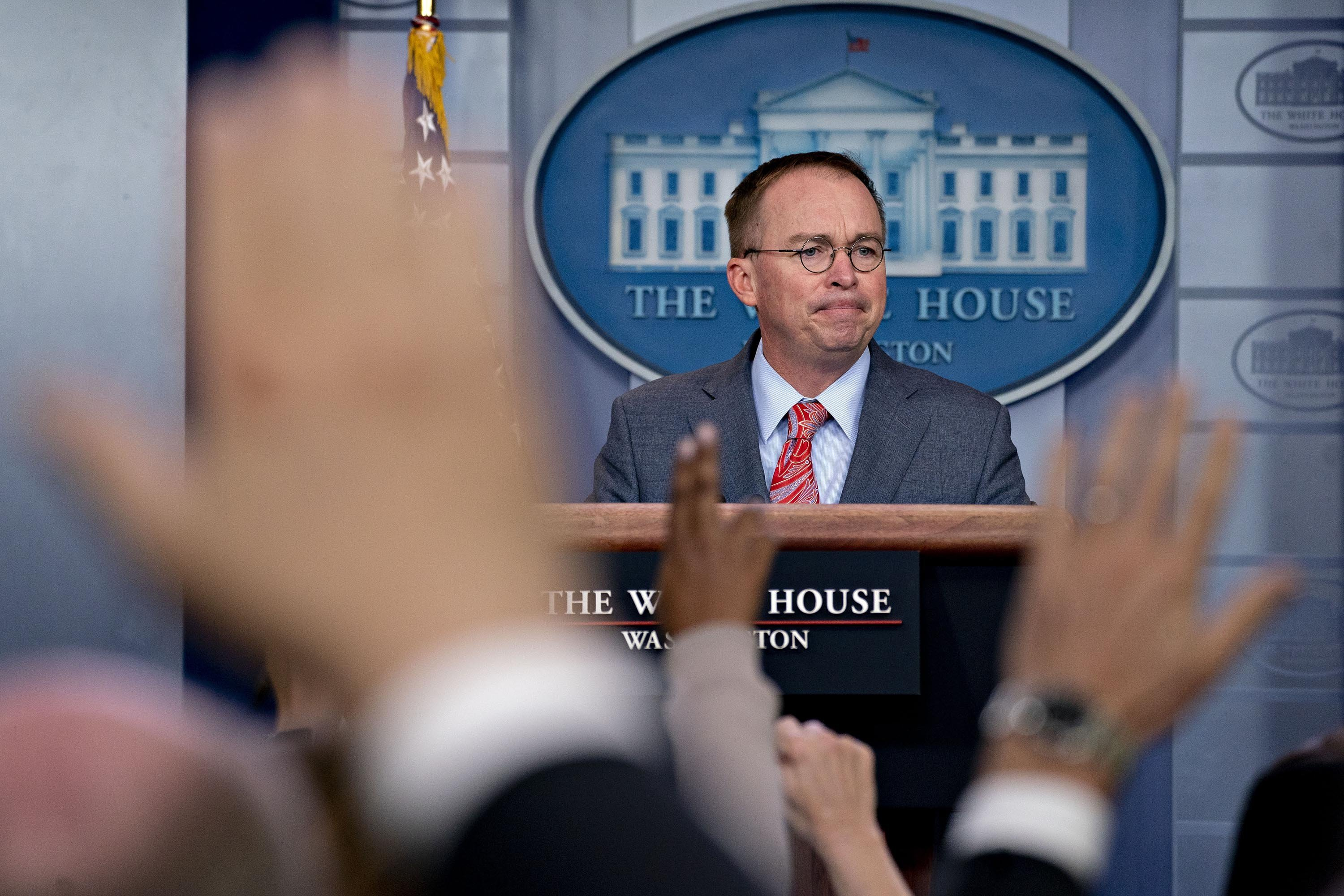 Mulvaney brashly admits quid pro quo over Ukraine aid as key details emerge — and then denies doing so