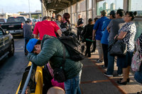 At least 350 children of migrant families forced to remain in Mexico have crossed over alone to US
