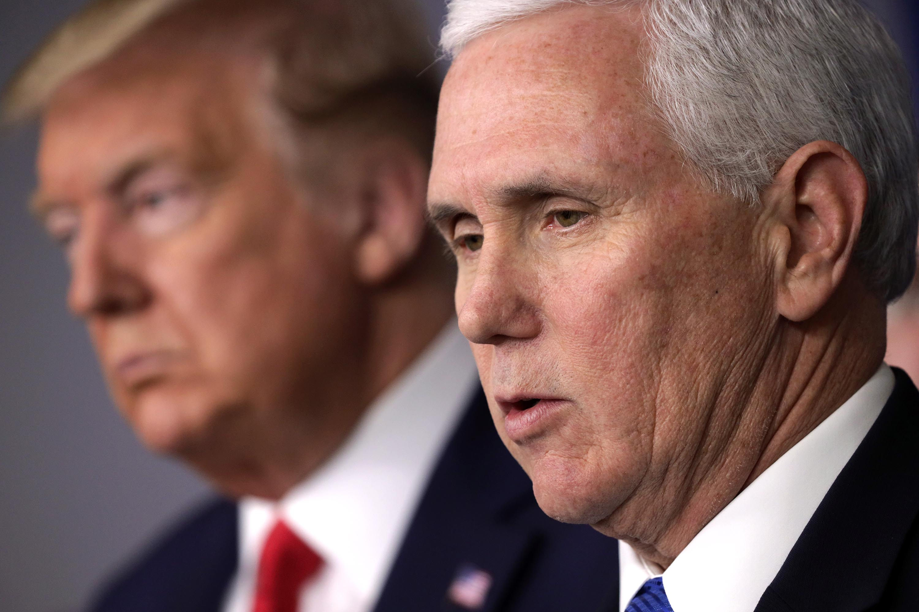 Pence seeks to blame CDC and China for any delay in US coronavirus response — not Trump's initial failure to face reality