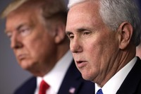Pence seeks to blame CDC and China for any delay in US coronavirus response -- not Trump's initial failure to face reality