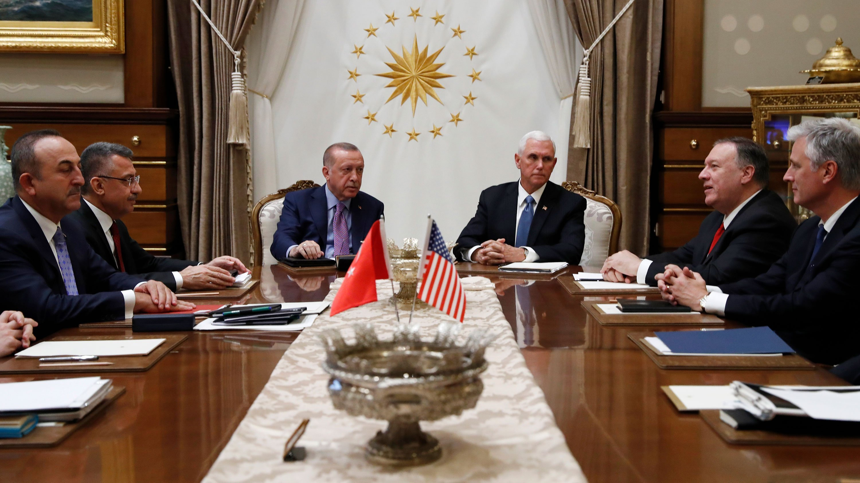 Inside Mike Pence's 9 hours in Turkey