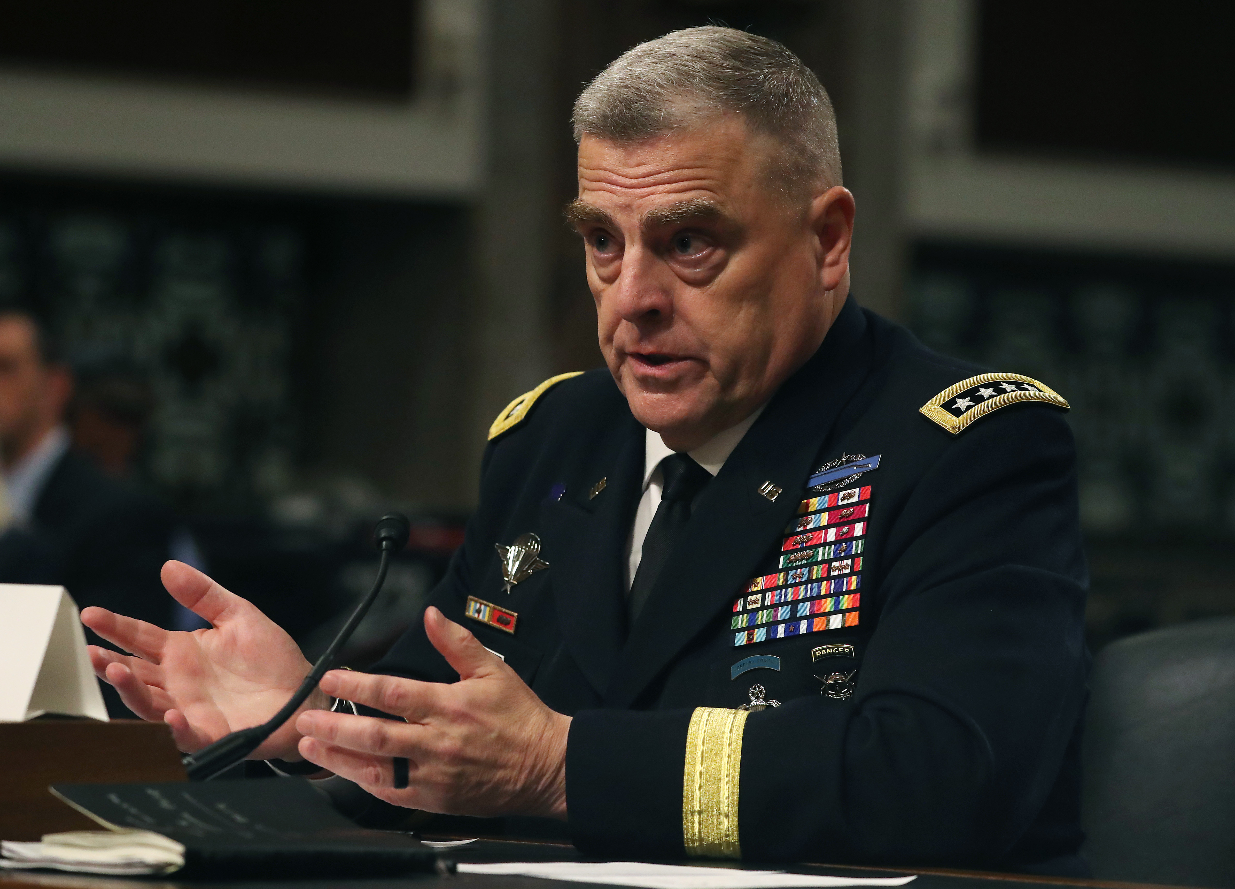 Top US general hits back against 'offensive' Republican criticism and defends Pentagon diversity efforts