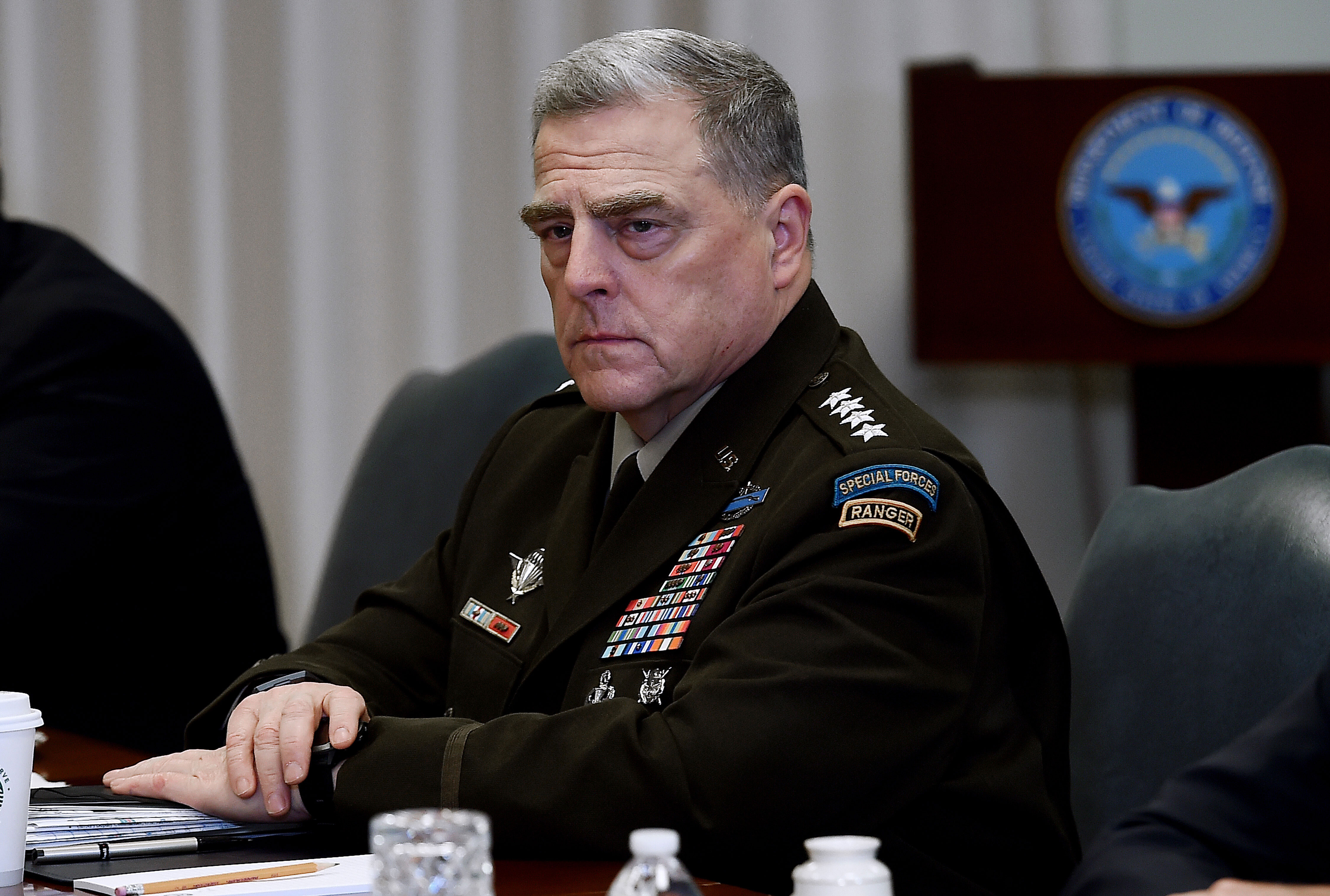 Top US general meets with his Russian counterpart in Finland