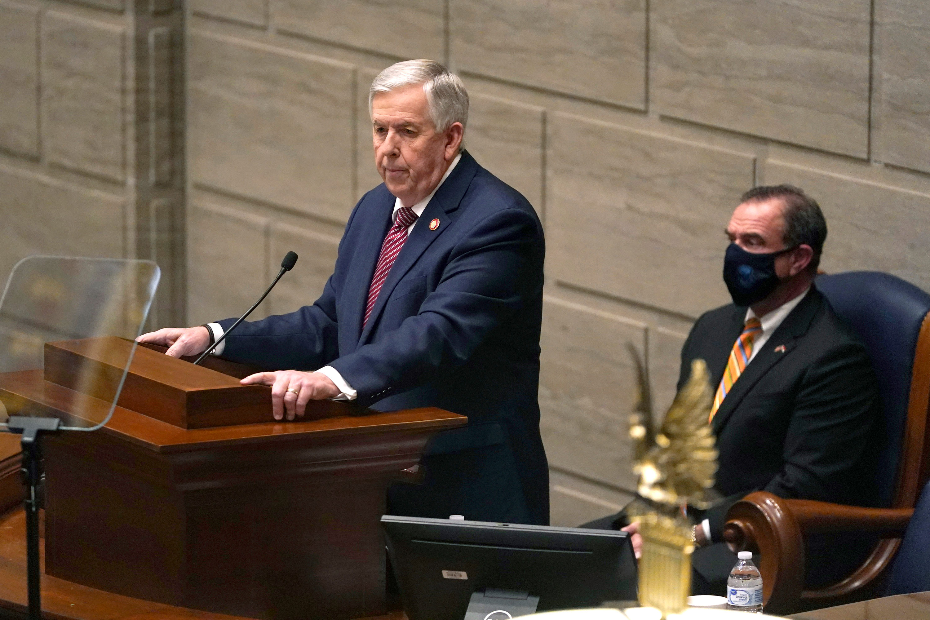 Missouri governor nixes voter-approved Medicaid expansion plan