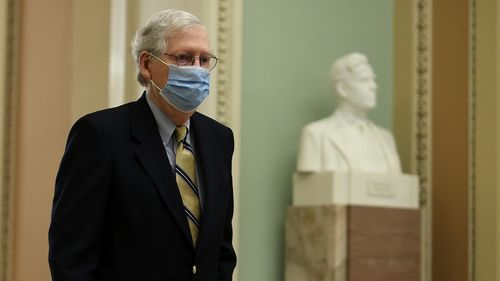 Image for Mitch McConnell: 'I Would Encourage all Republican Men' to Get Vaccinated