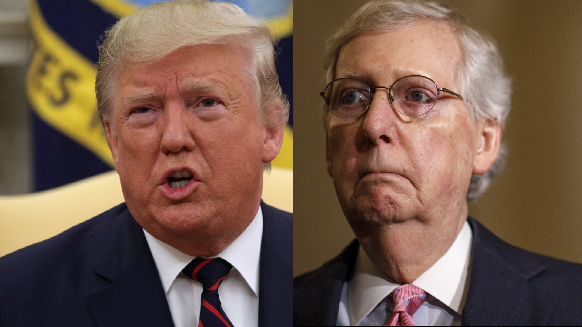 McConnell slams Trump administration for Syria withdrawal after talking to Pence