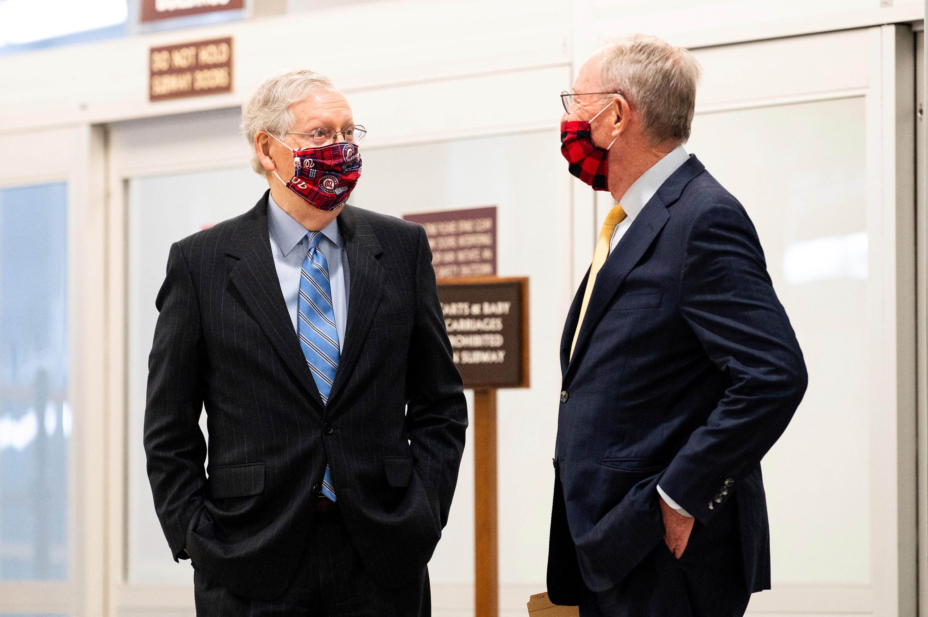 McConnell chokes up in emotional tribute to retiring Tennessee senator