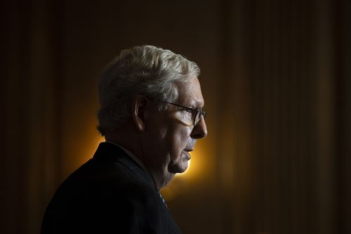 Image for Mitch McConnell faces decision over formal vote to increase stimulus payments to $2,000