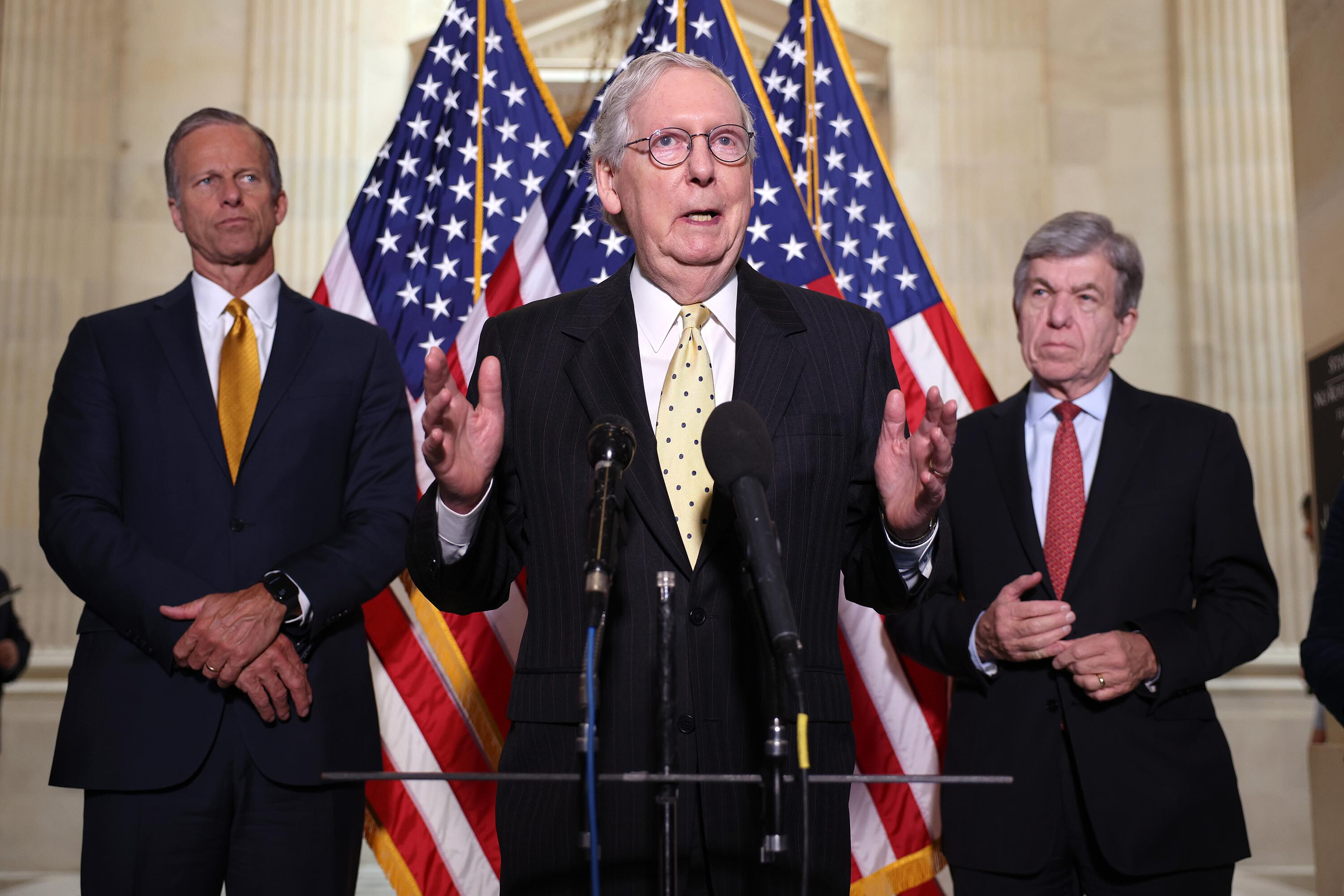 McConnell says GOP will not vote to raise debt ceiling, setting up clash in Congress