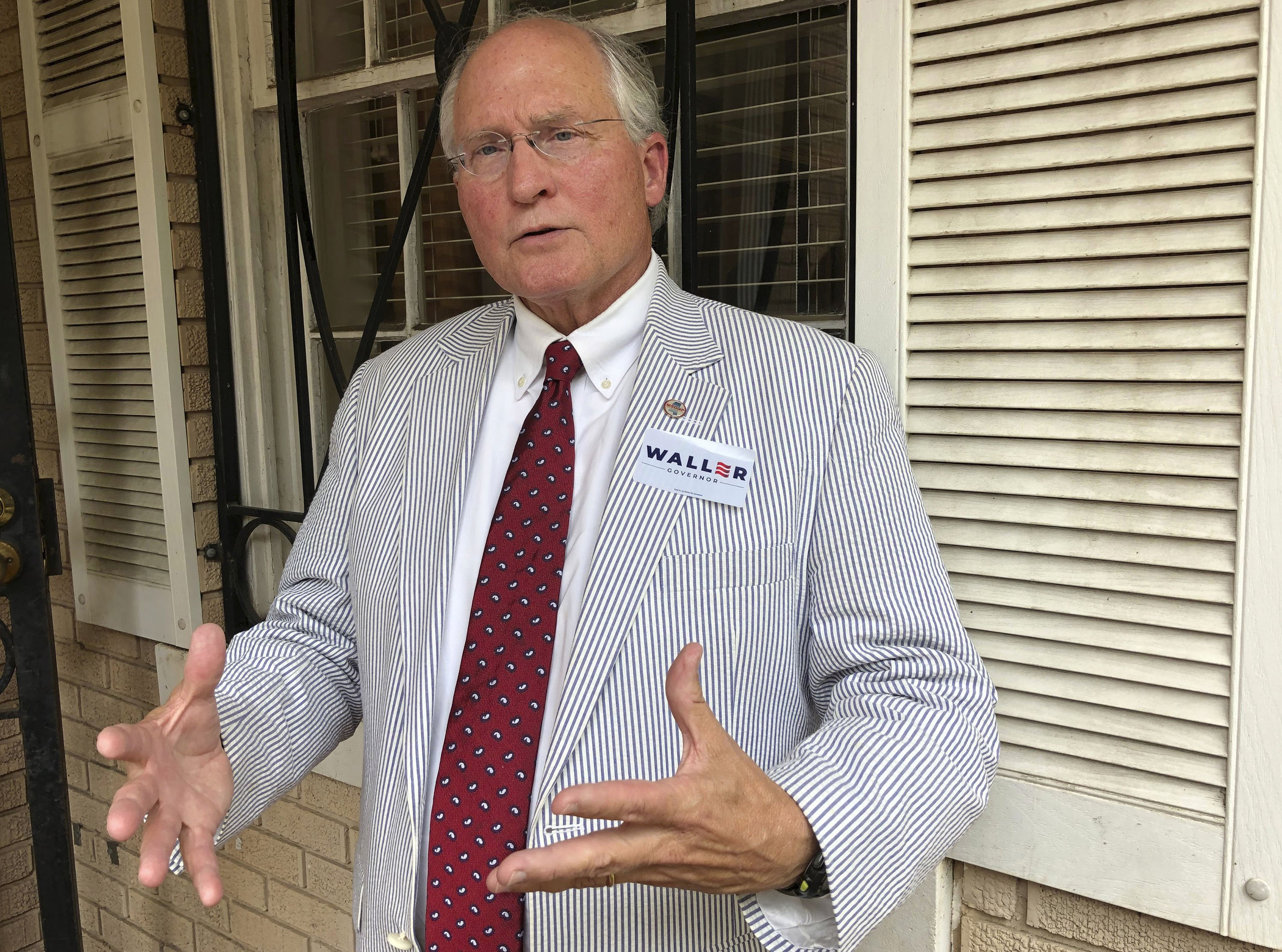 Second Mississippi gubernatorial candidate says he will not be alone with a woman who is not his wife